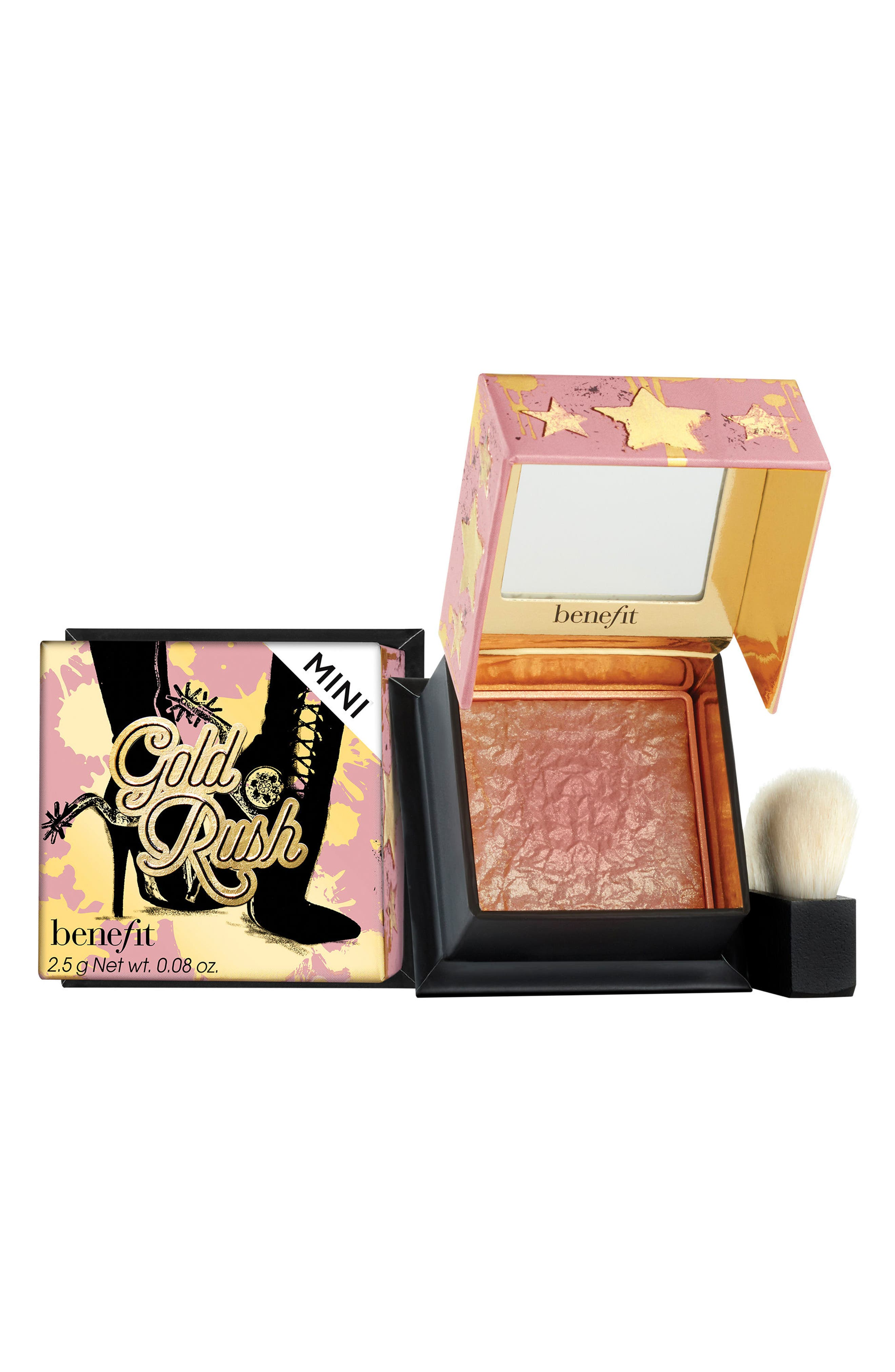 Benefit Gold Rush Blush,                             Main thumbnail 1, color,                             NO COLOR