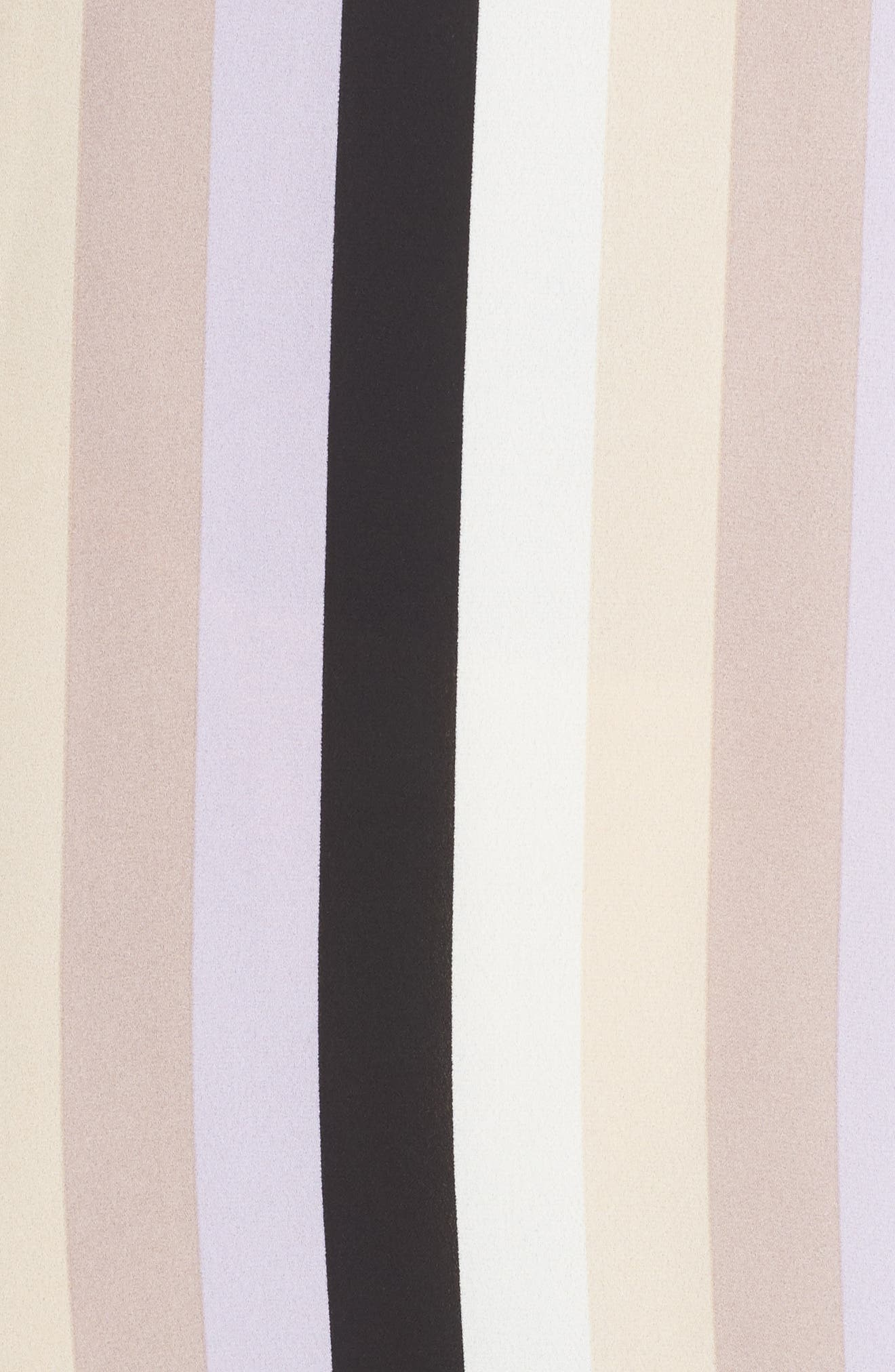 Stripe A-Line Dress,                             Alternate thumbnail 5, color,                             571
