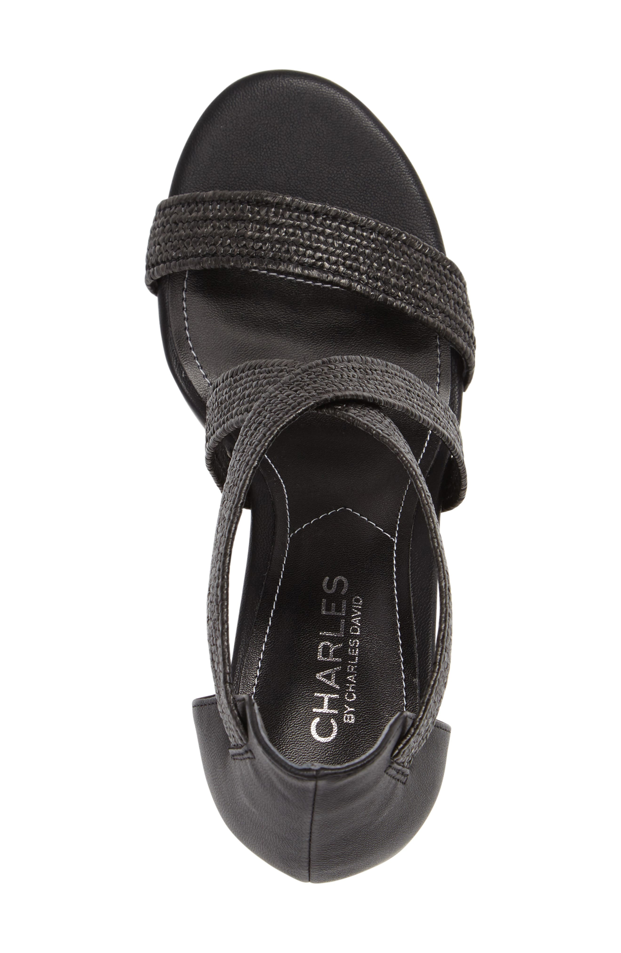 Emily Strappy Sandal,                             Alternate thumbnail 5, color,