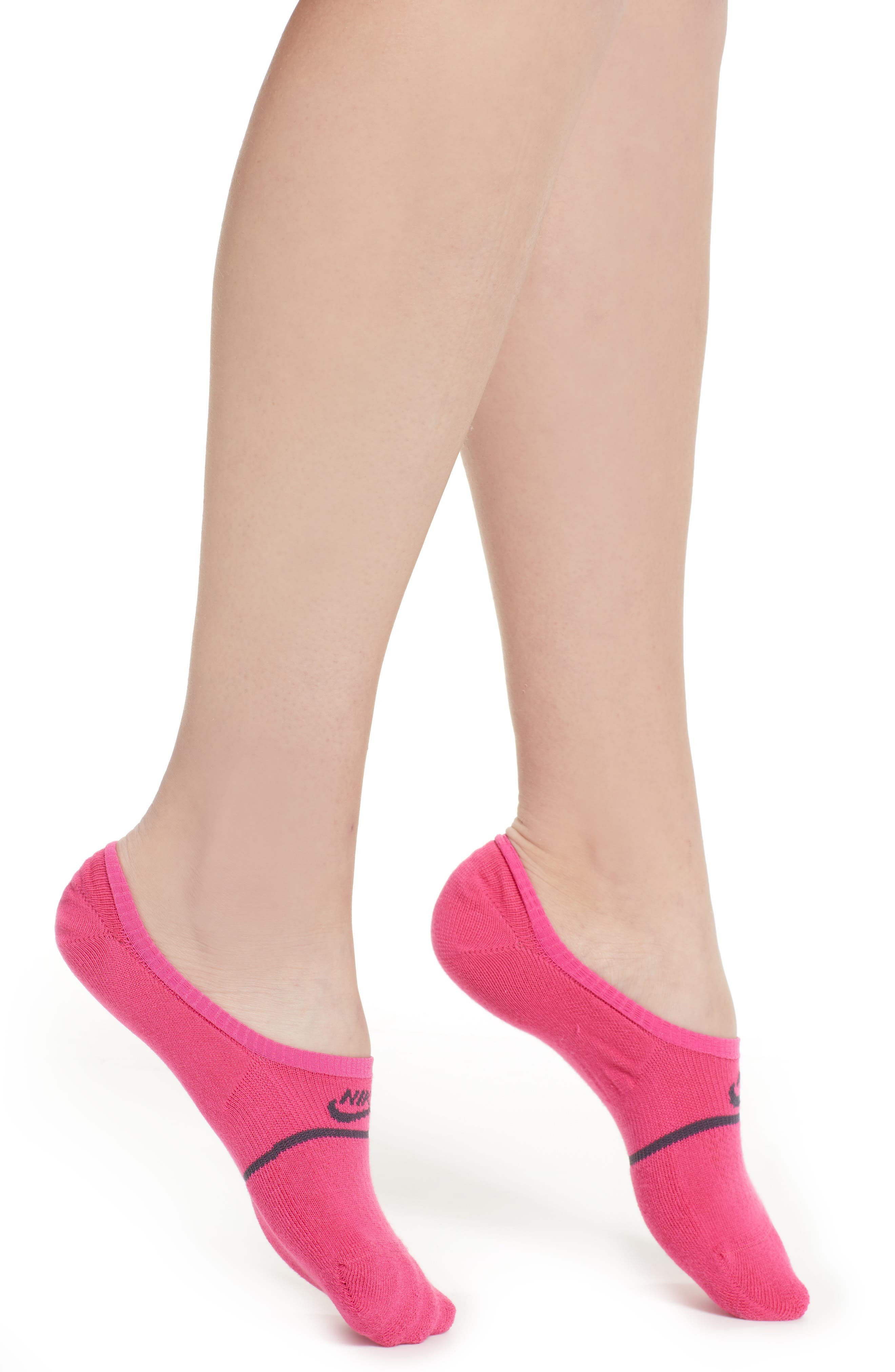 2-Pack Snkr Sox Essential No Show Socks in Watermelon/ Gridiron