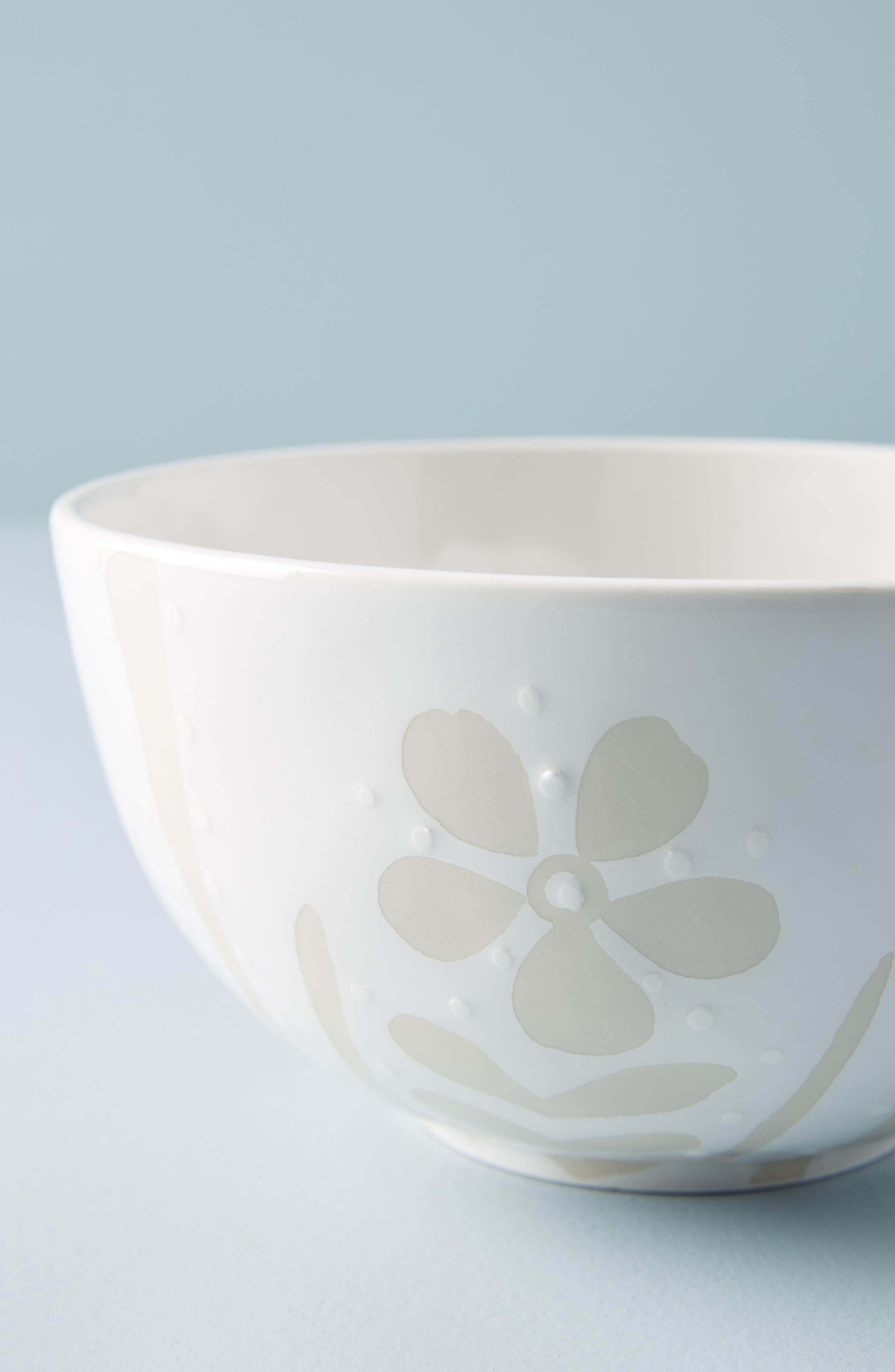 Vitti Bowl,                             Alternate thumbnail 2, color,                             WHITE