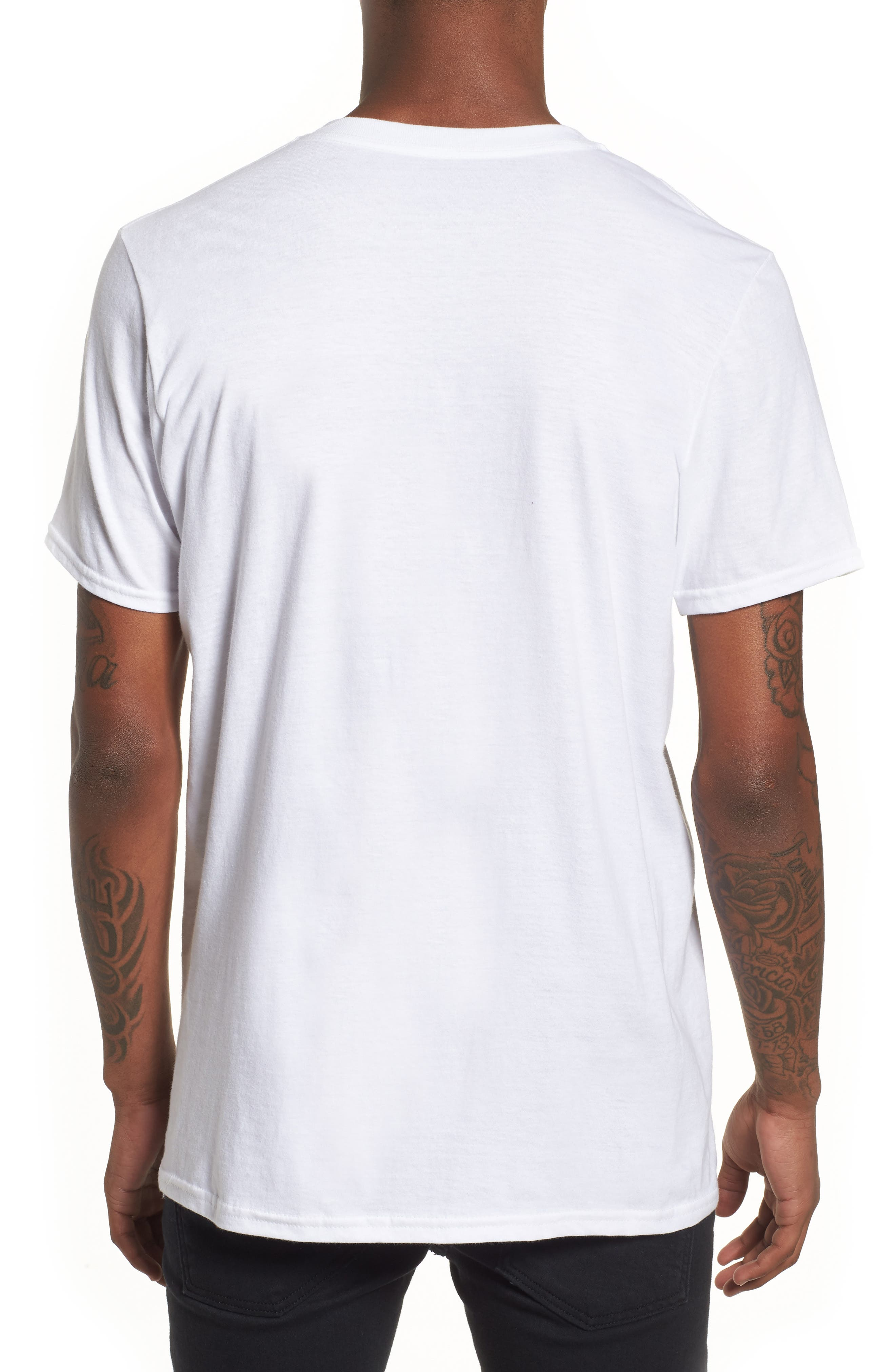NASA Logo T-Shirt,                             Alternate thumbnail 2, color,                             100