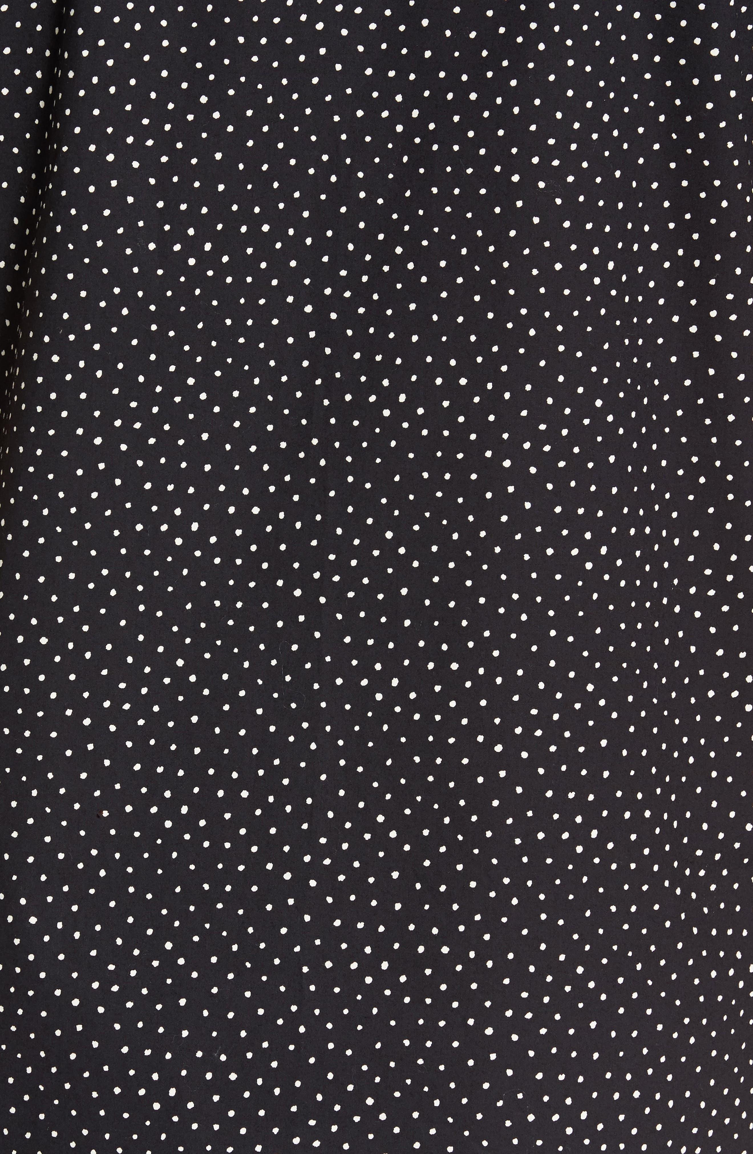 Becker Dot Print Woven Shirt,                             Alternate thumbnail 9, color,