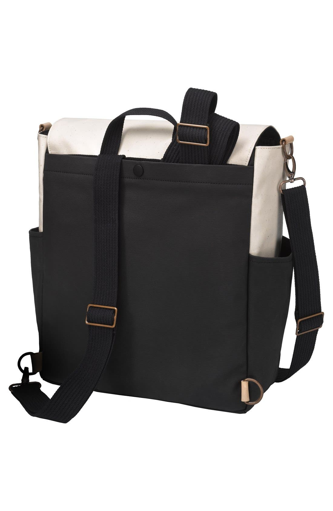Pathway Backpack Diaper Tote,                             Alternate thumbnail 3, color,                             BIRCH/ BLACK