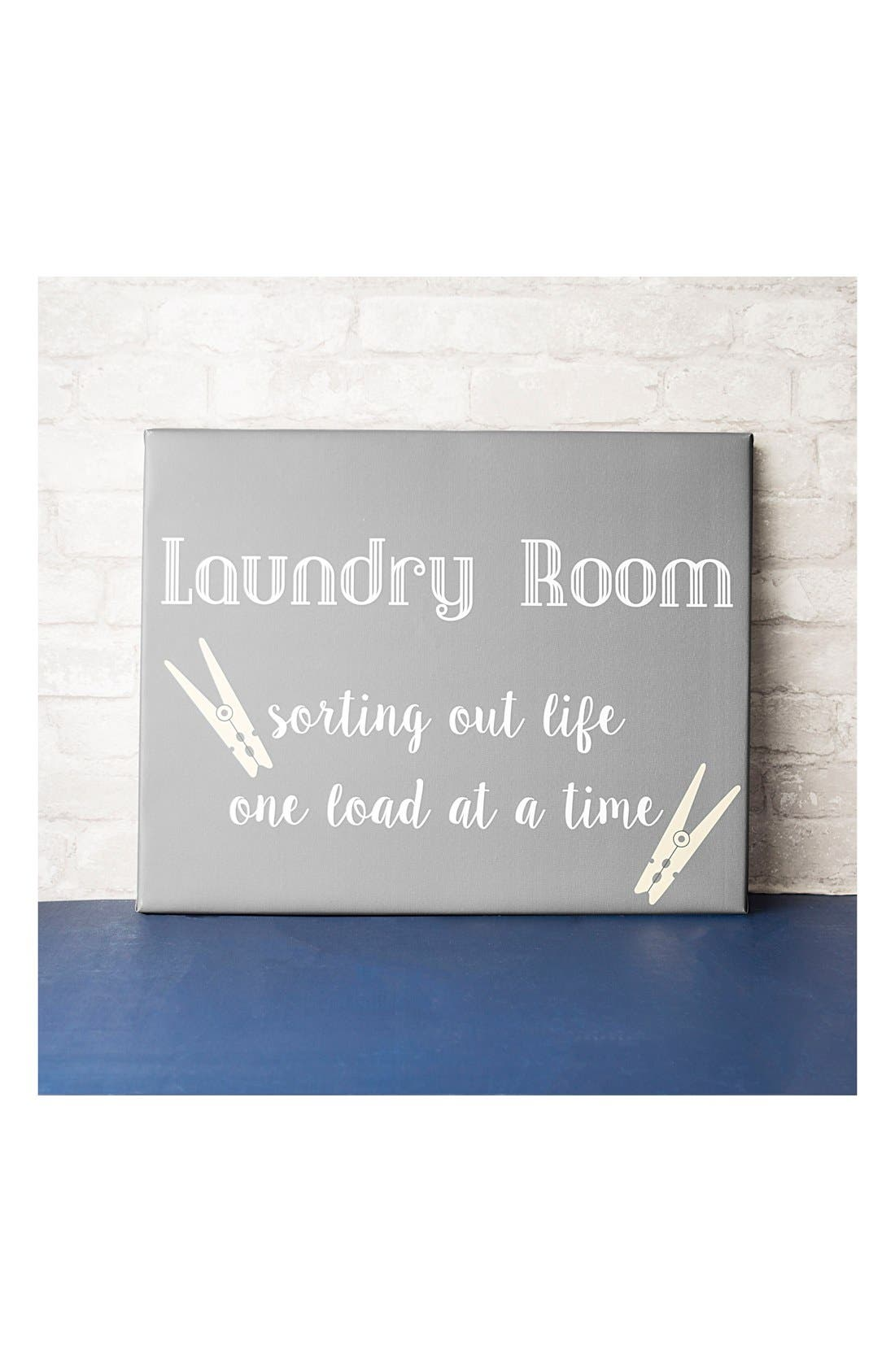 Laundry Room Sign,                             Alternate thumbnail 4, color,