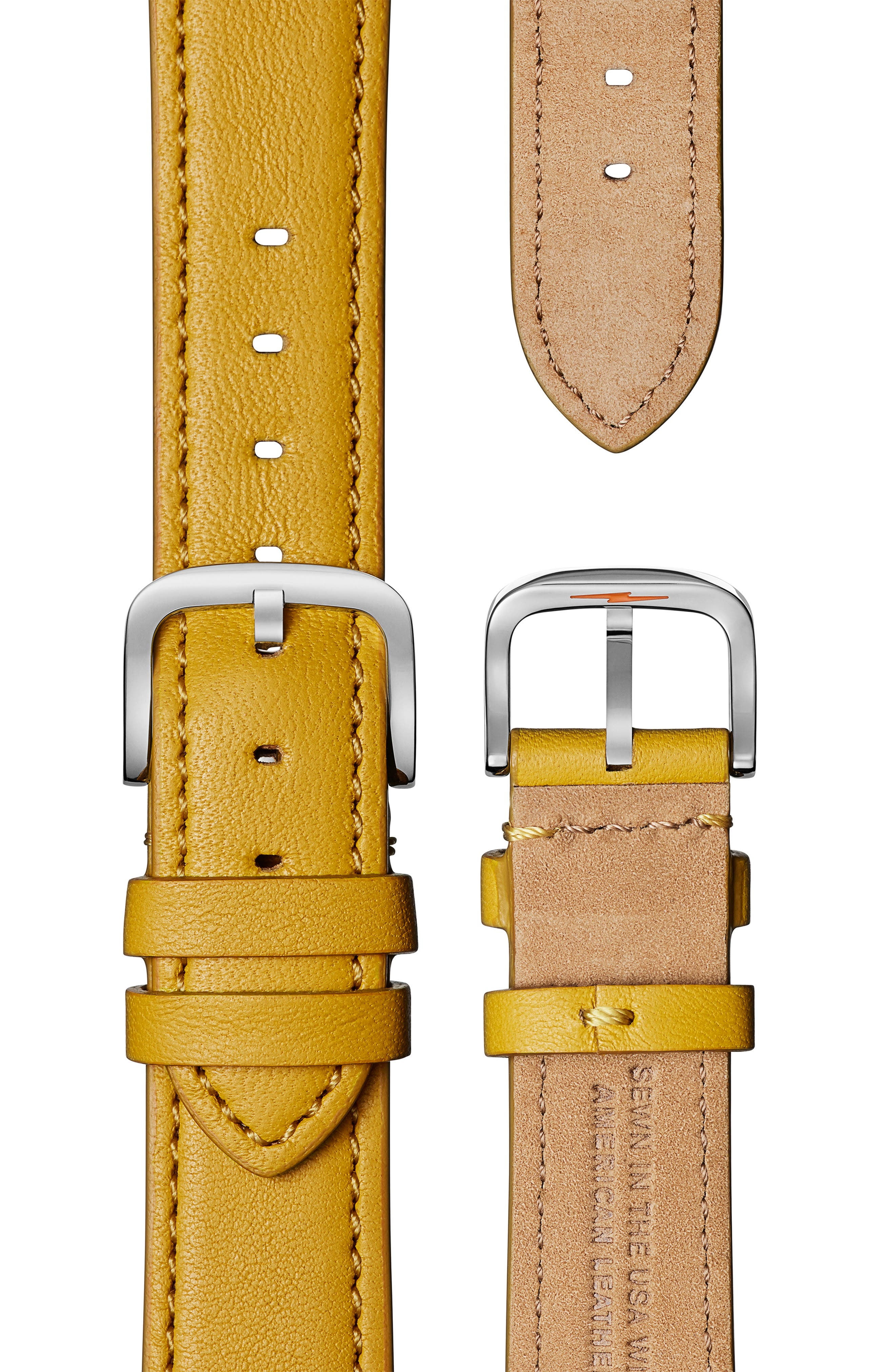 The Muldowney Rectangular Leather Strap Watch, 24mm x 32mm,                             Alternate thumbnail 20, color,