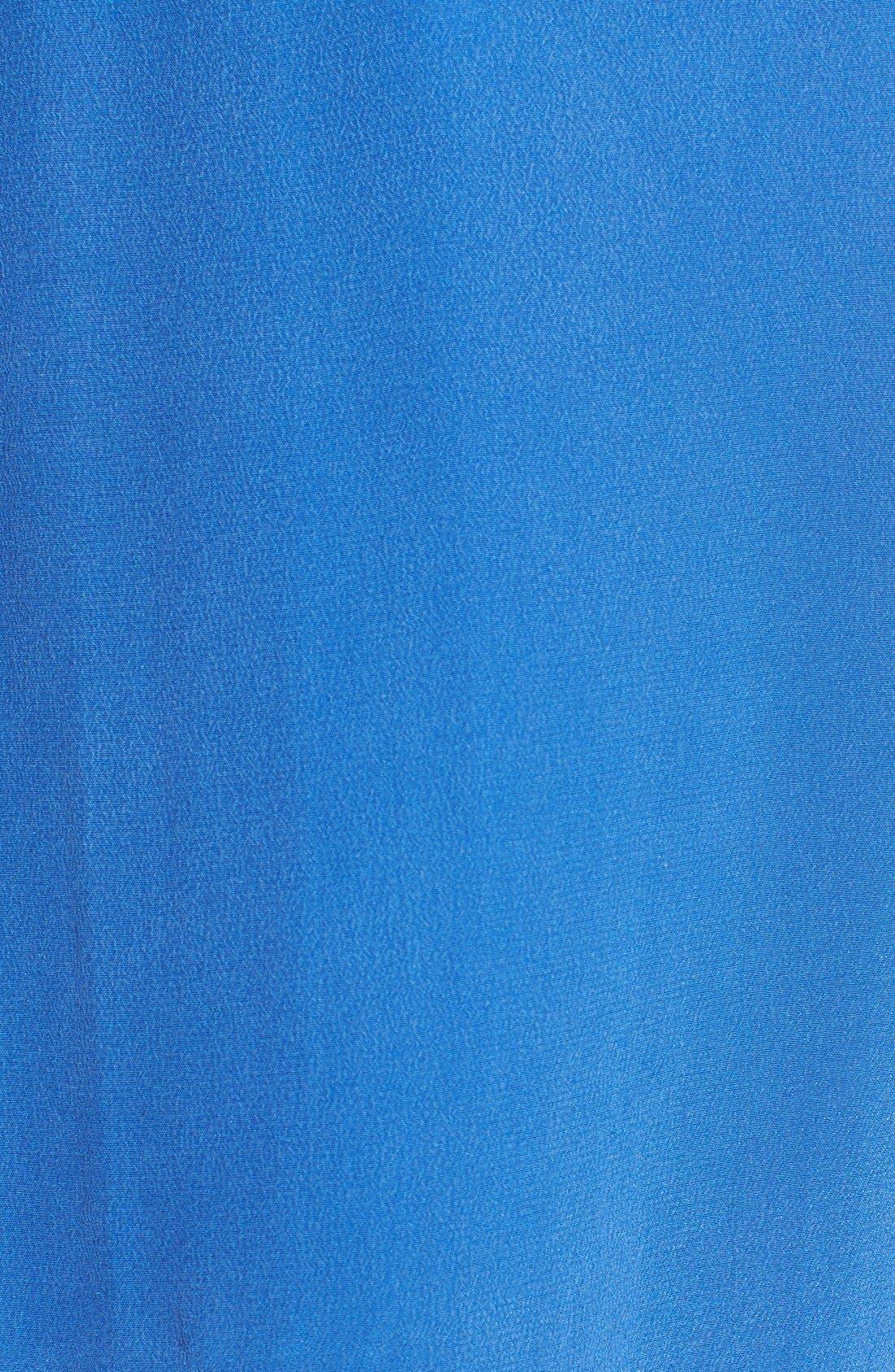 'Slim Signature' Sleeveless Silk Shirt,                             Alternate thumbnail 74, color,