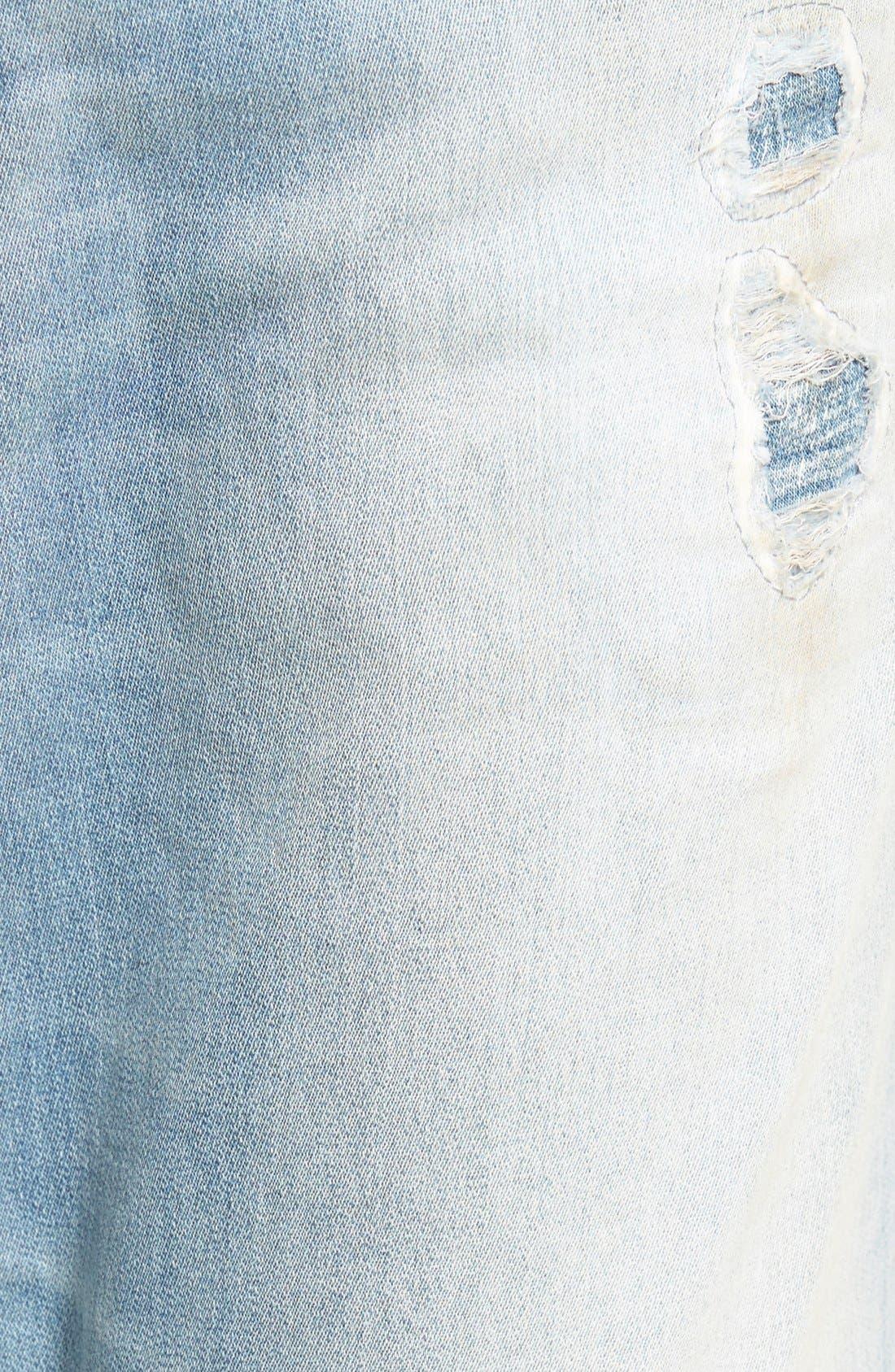 'Spender' Skinny Fit Jeans,                             Alternate thumbnail 6, color,                             400