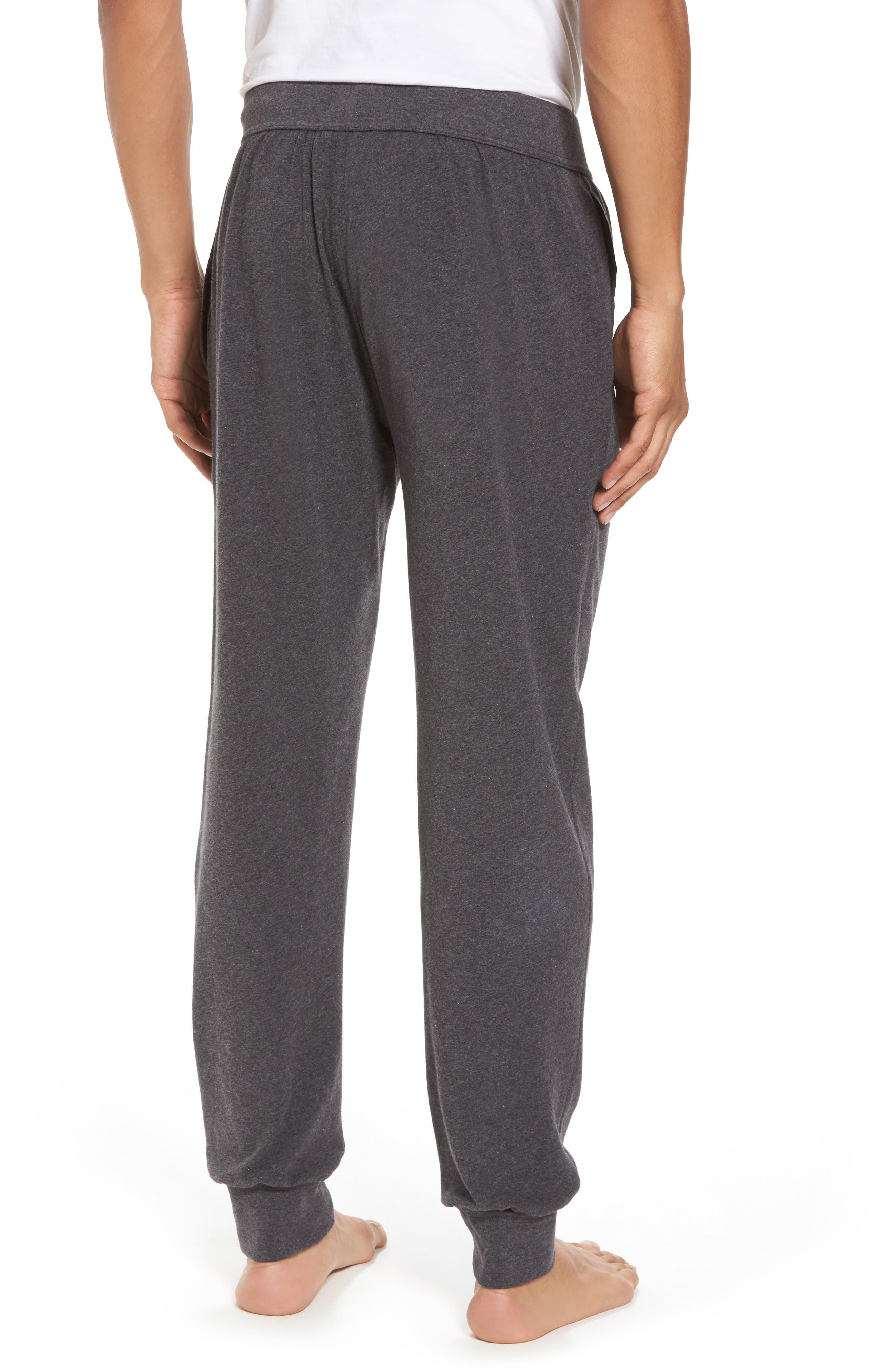 Stretch Cotton Lounge Pants,                             Alternate thumbnail 2, color,                             021
