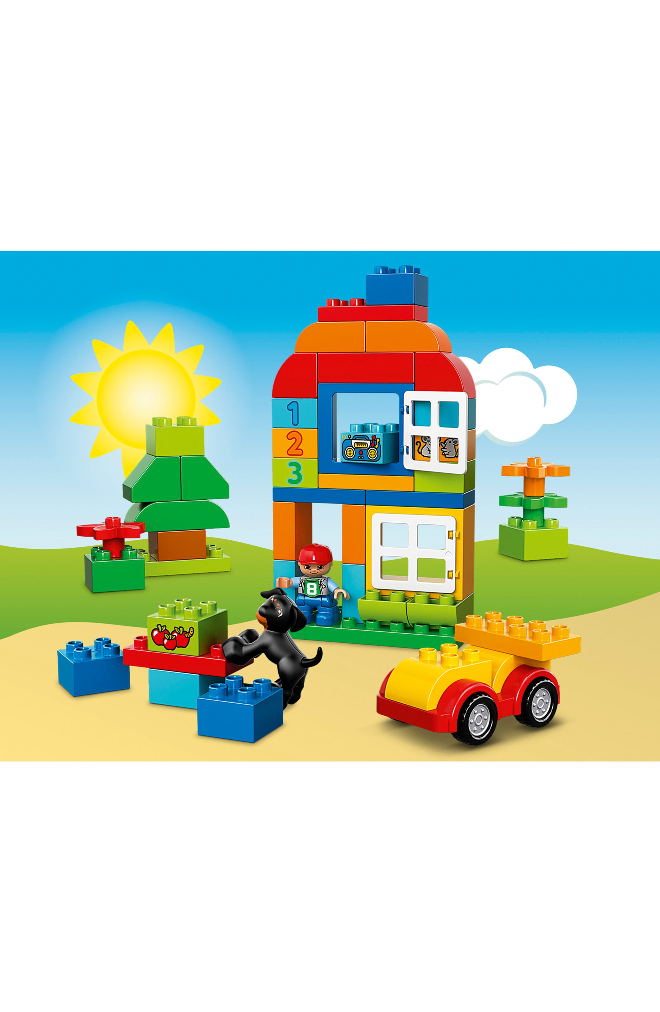 DUPLO<sup>®</sup> All-in-One Box of Fun - 10572,                             Alternate thumbnail 2, color,                             640