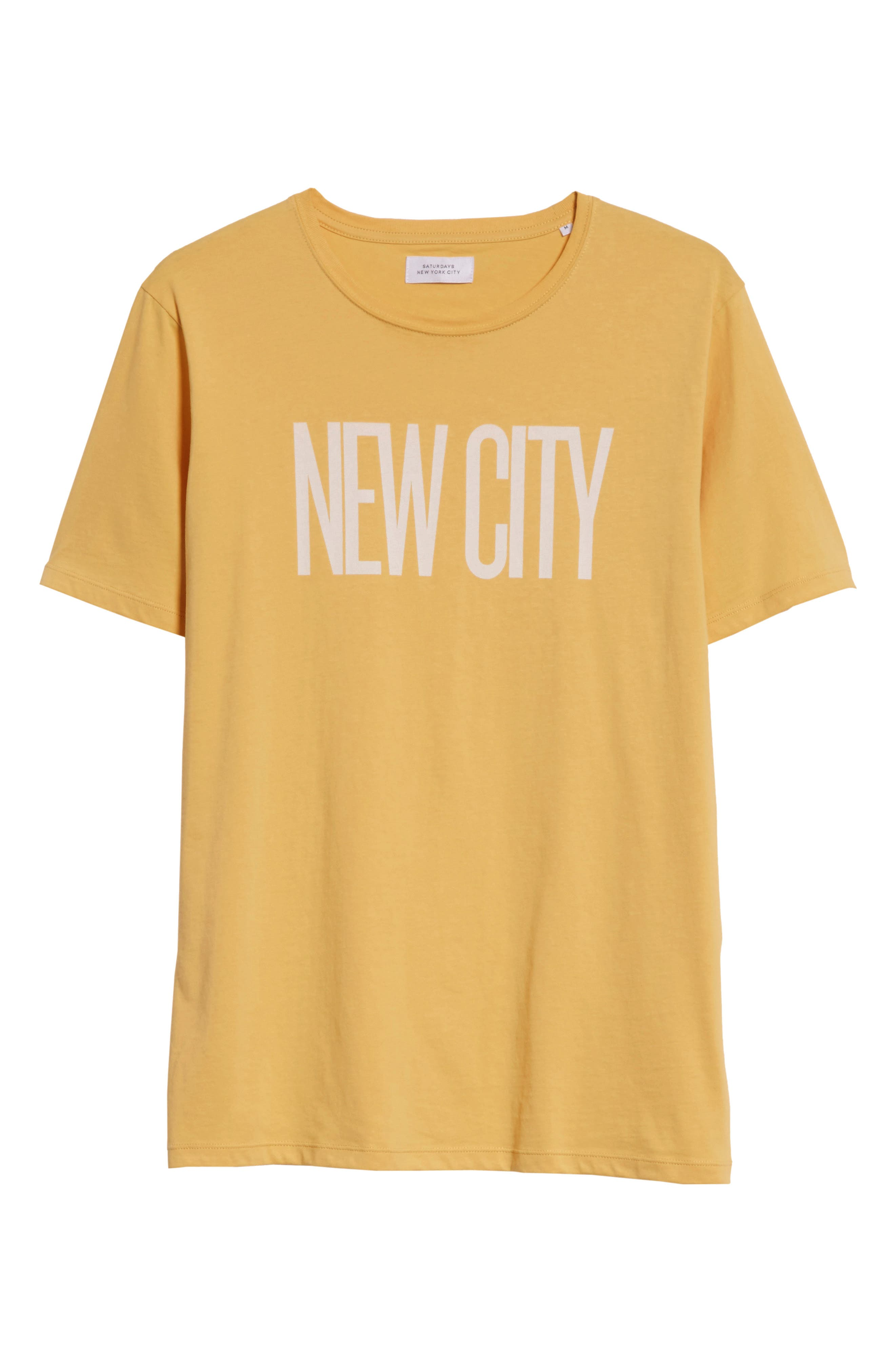 New City Graphic T-Shirt,                             Alternate thumbnail 6, color,                             DUSTY AMBER