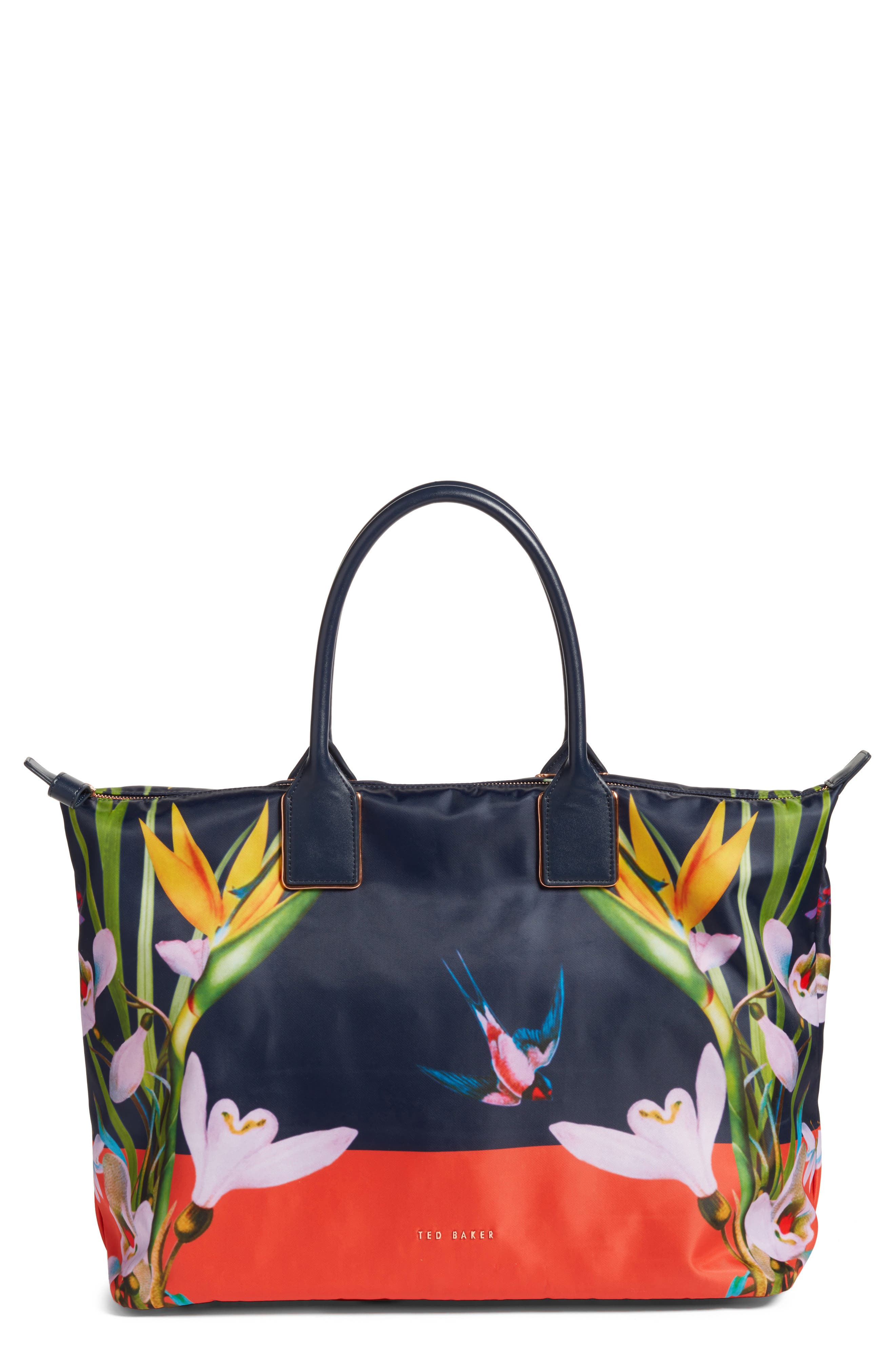 Tropical Oasis Large Tote,                         Main,                         color, 410