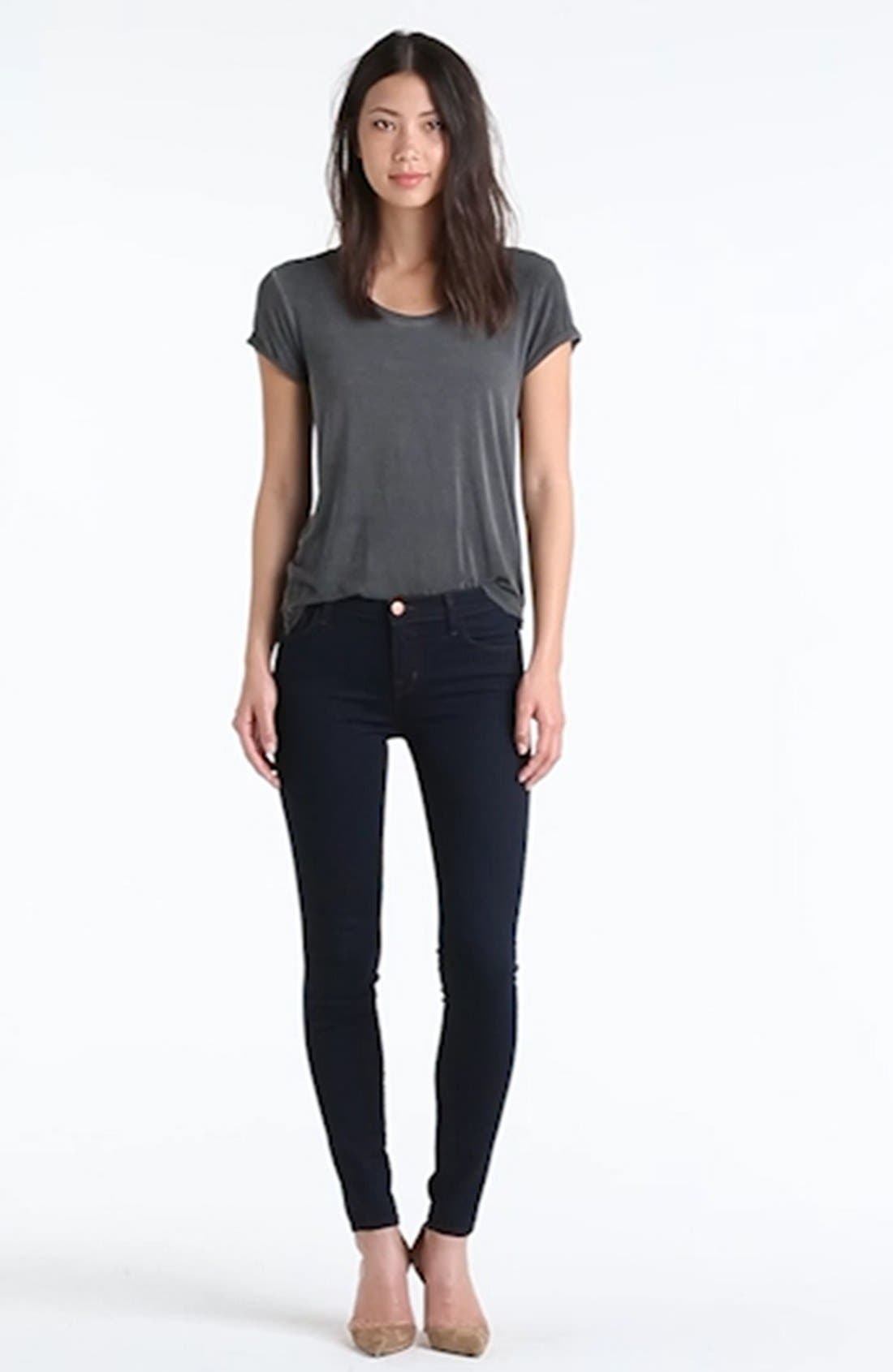 '811' Ankle Skinny Jeans,                             Alternate thumbnail 7, color,                             460