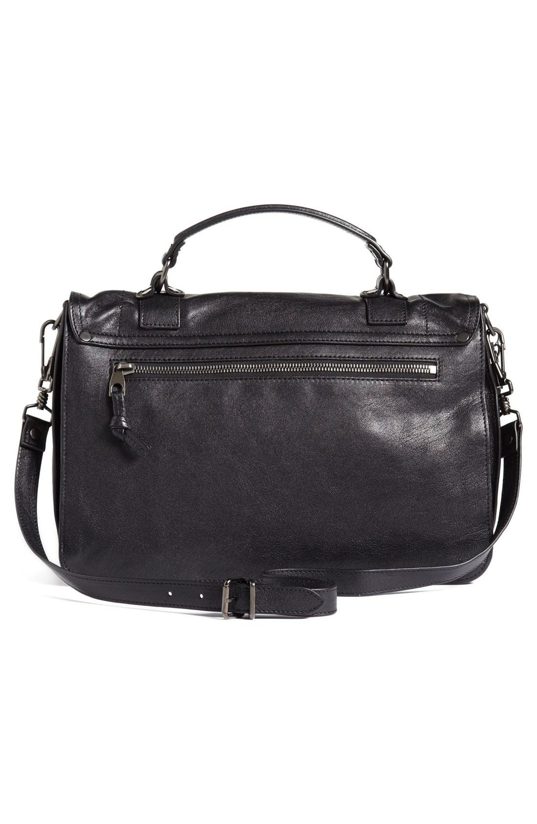 'Medium PS1' Satchel,                             Alternate thumbnail 3, color,                             BLACK
