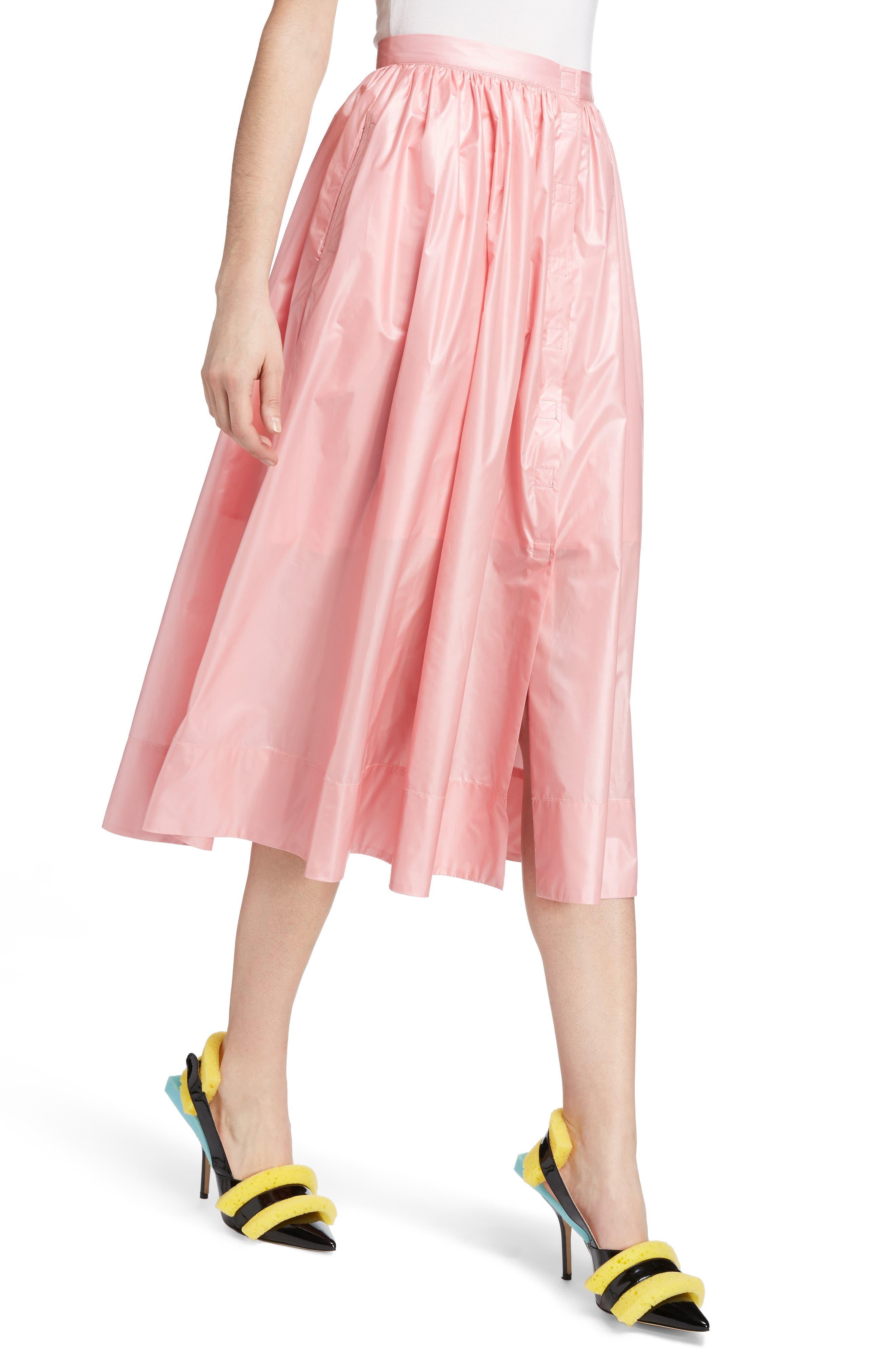 Nylon Parachute Skirt,                             Alternate thumbnail 4, color,                             650