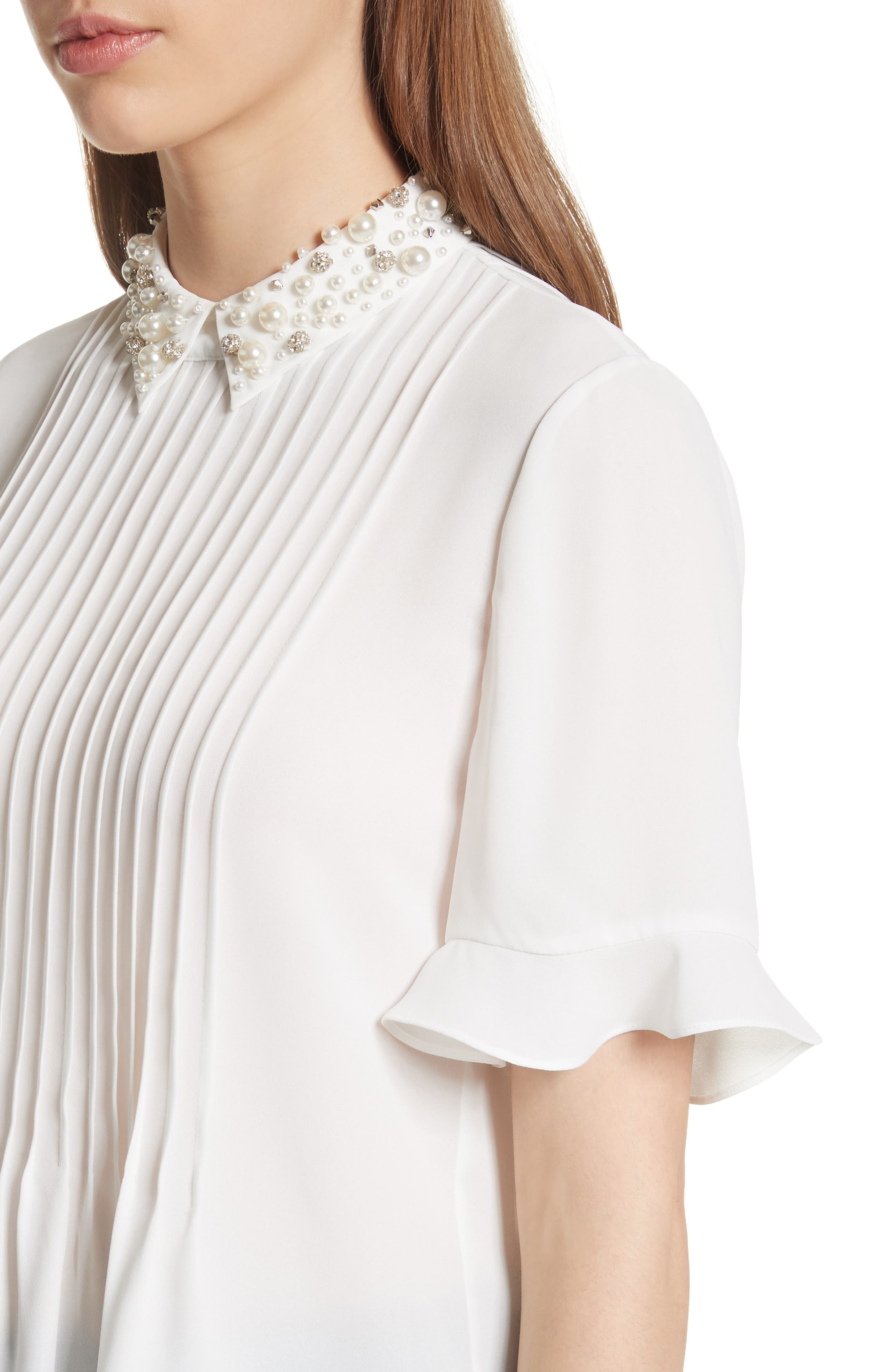 embellished collar shirt,                             Alternate thumbnail 4, color,                             292