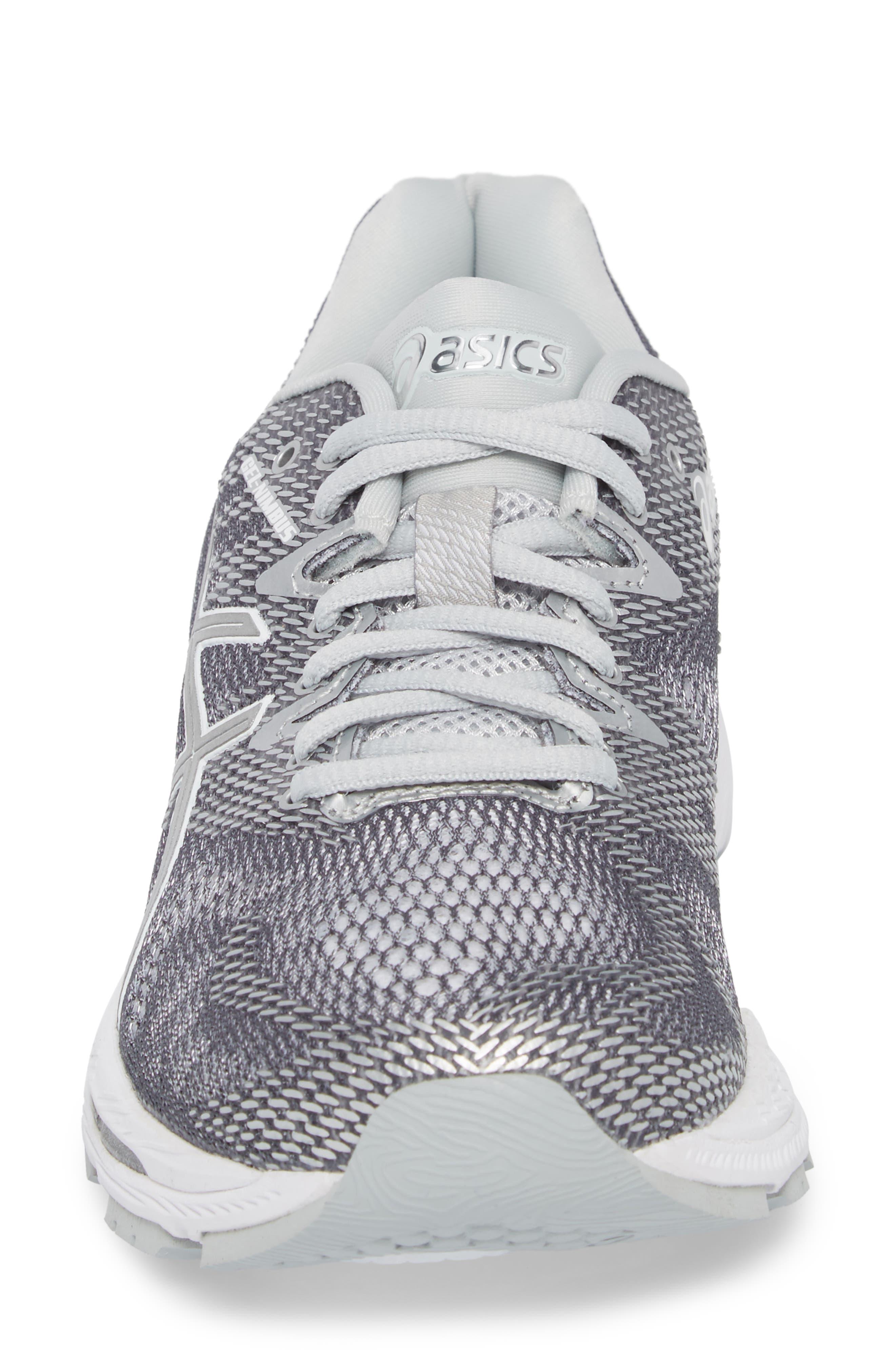 GEL-Nimbus 20 Platinum Running Shoe,                             Alternate thumbnail 4, color,                             097
