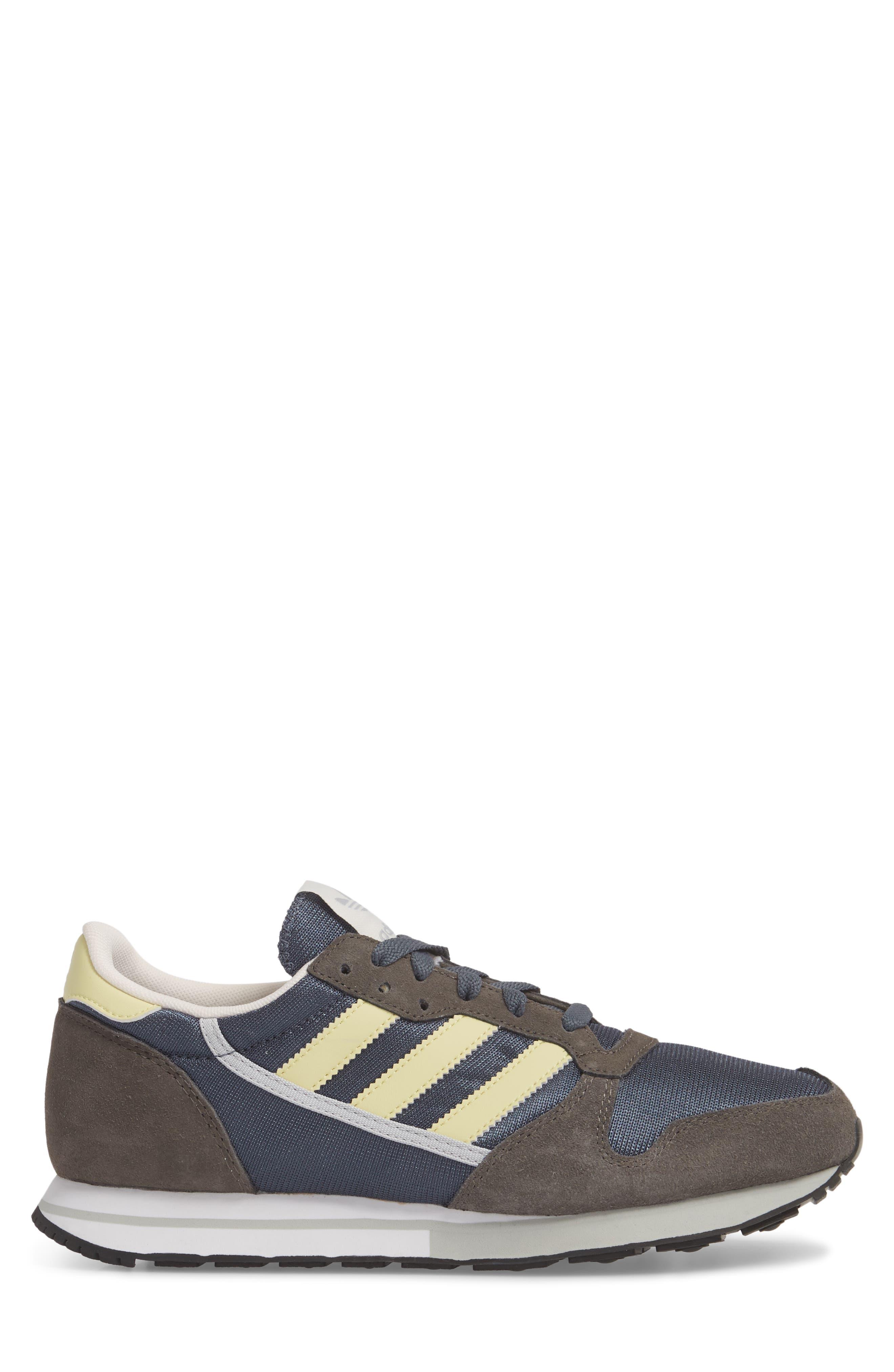 ZX 280 SPZL Sneaker,                             Alternate thumbnail 3, color,                             WHITE/ GREY/ WHITE