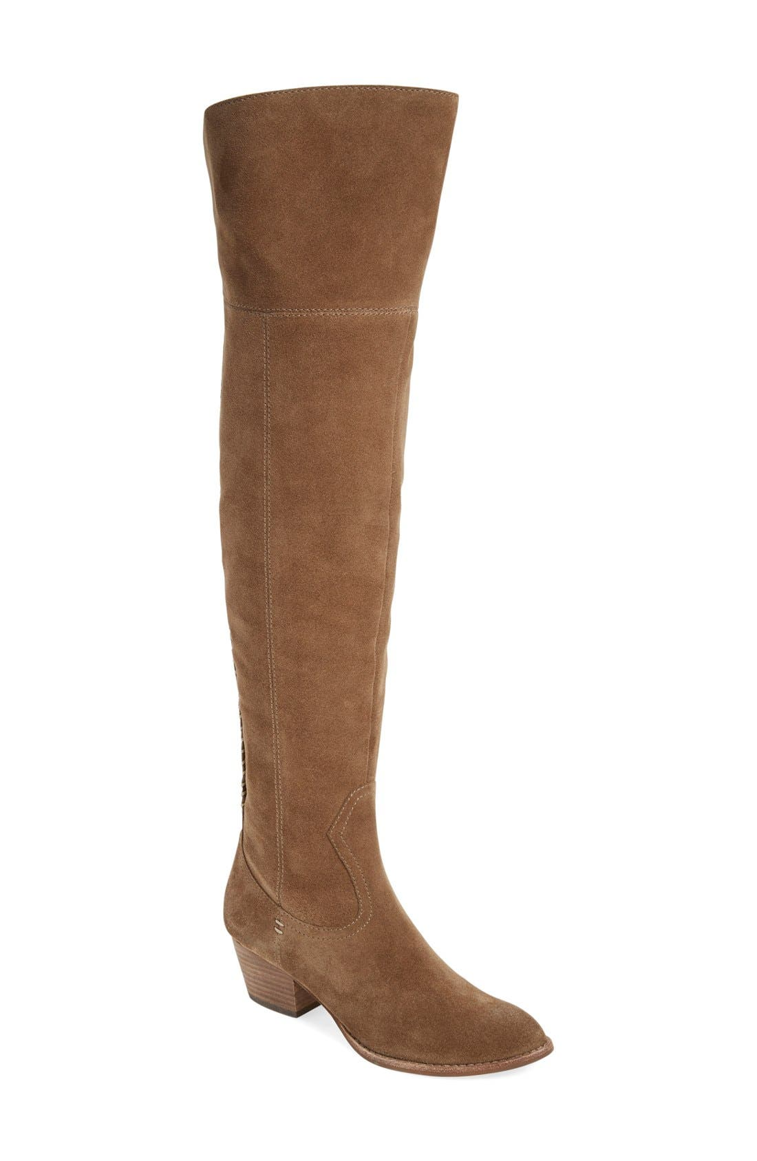 'Silas' Over the Knee Boot,                             Main thumbnail 4, color,