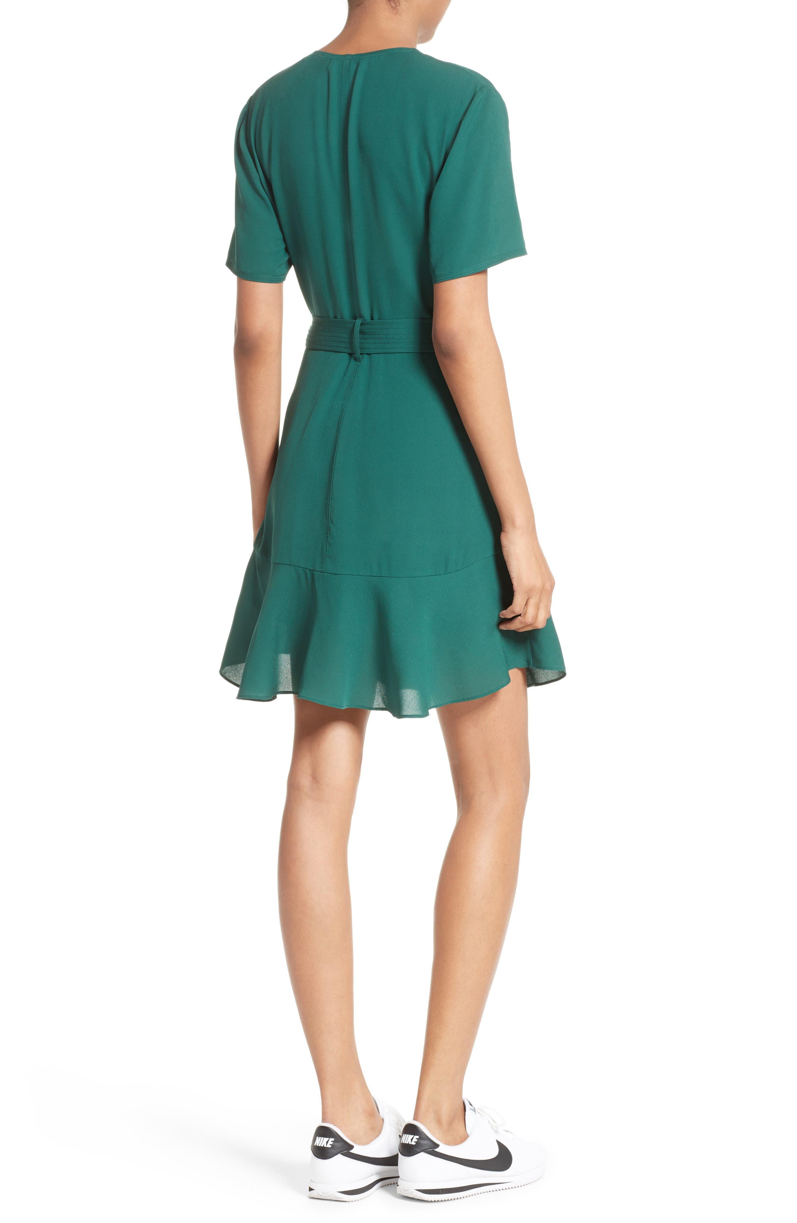 Micah Silk Wrap Dress,                             Alternate thumbnail 2, color,                             301