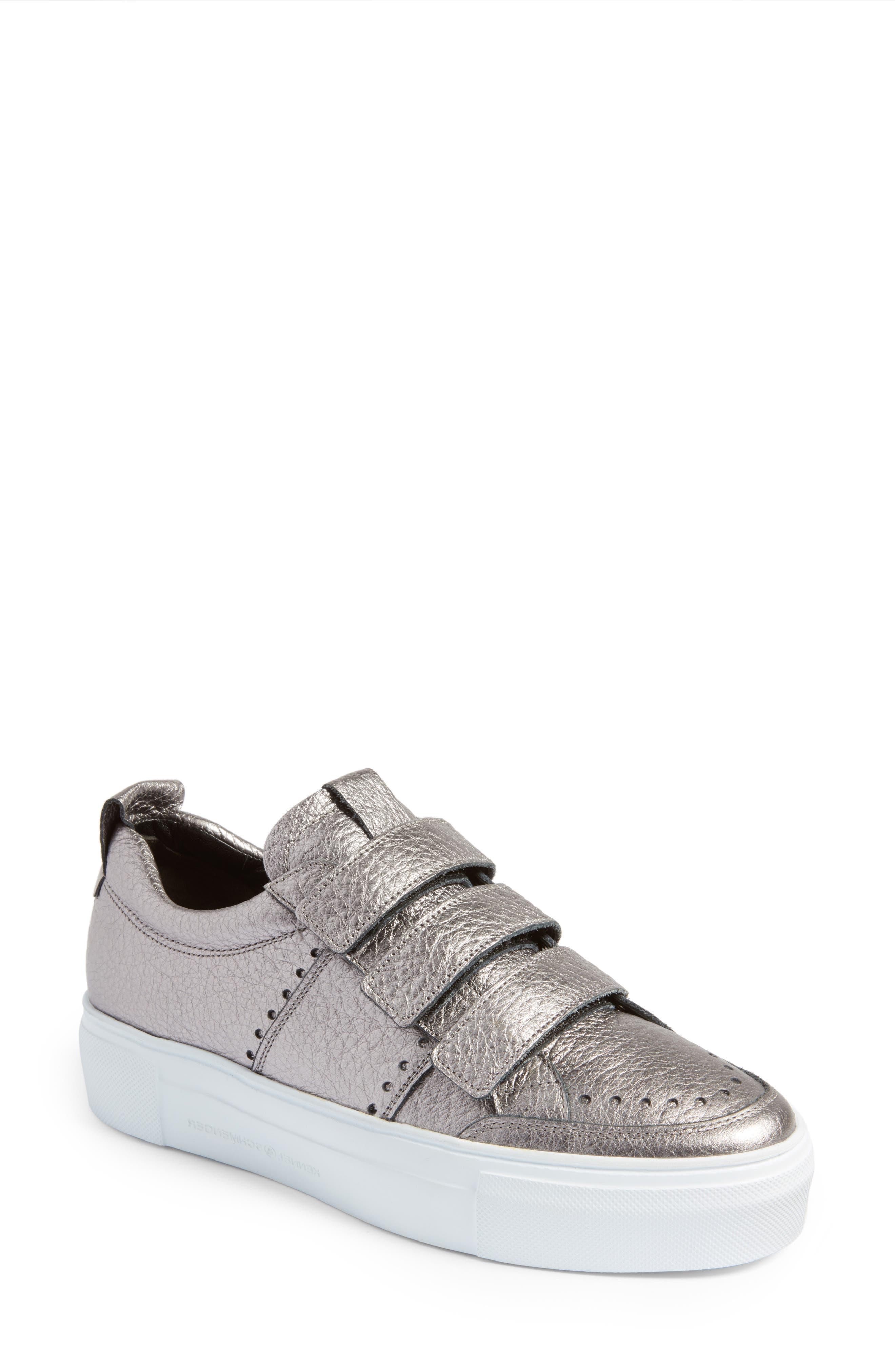 Kennel & Schmenger Big Low Top Tab Sneaker,                         Main,                         color, 020