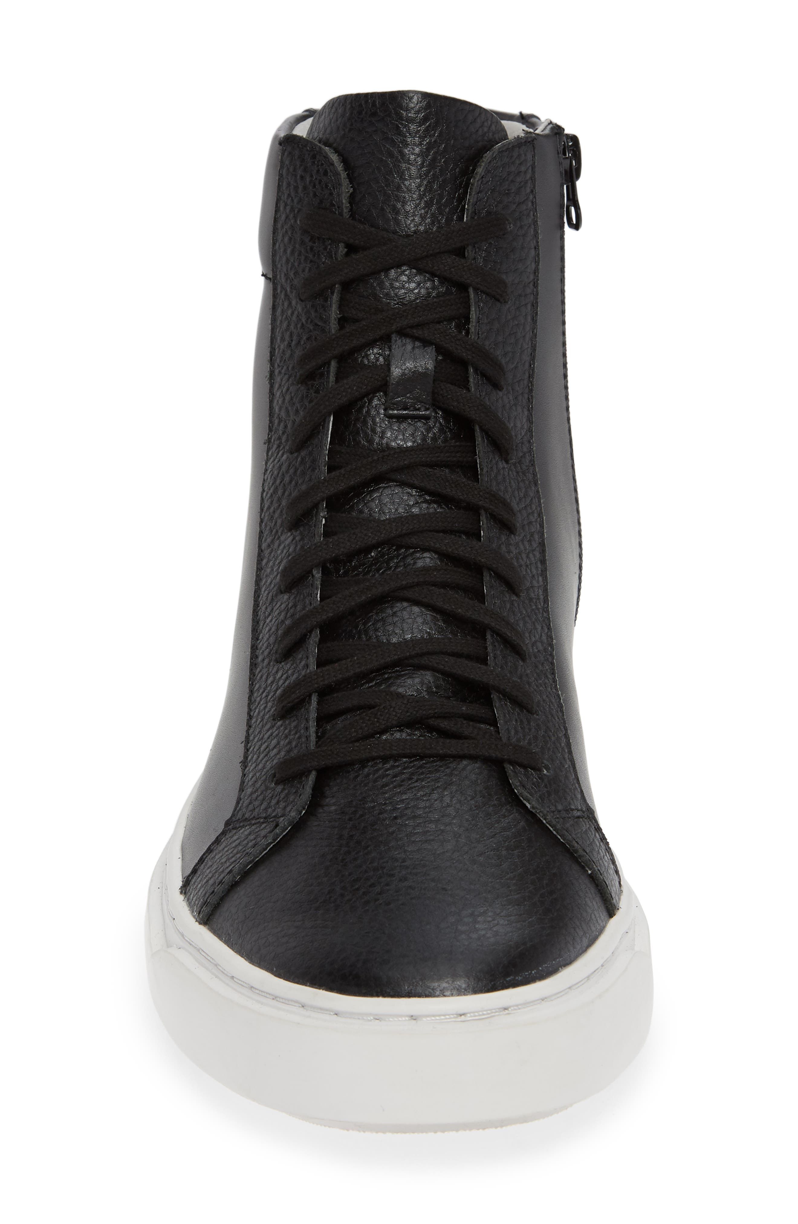 Logan High Top Sneaker,                             Alternate thumbnail 4, color,                             HIGHLAND LEATHER