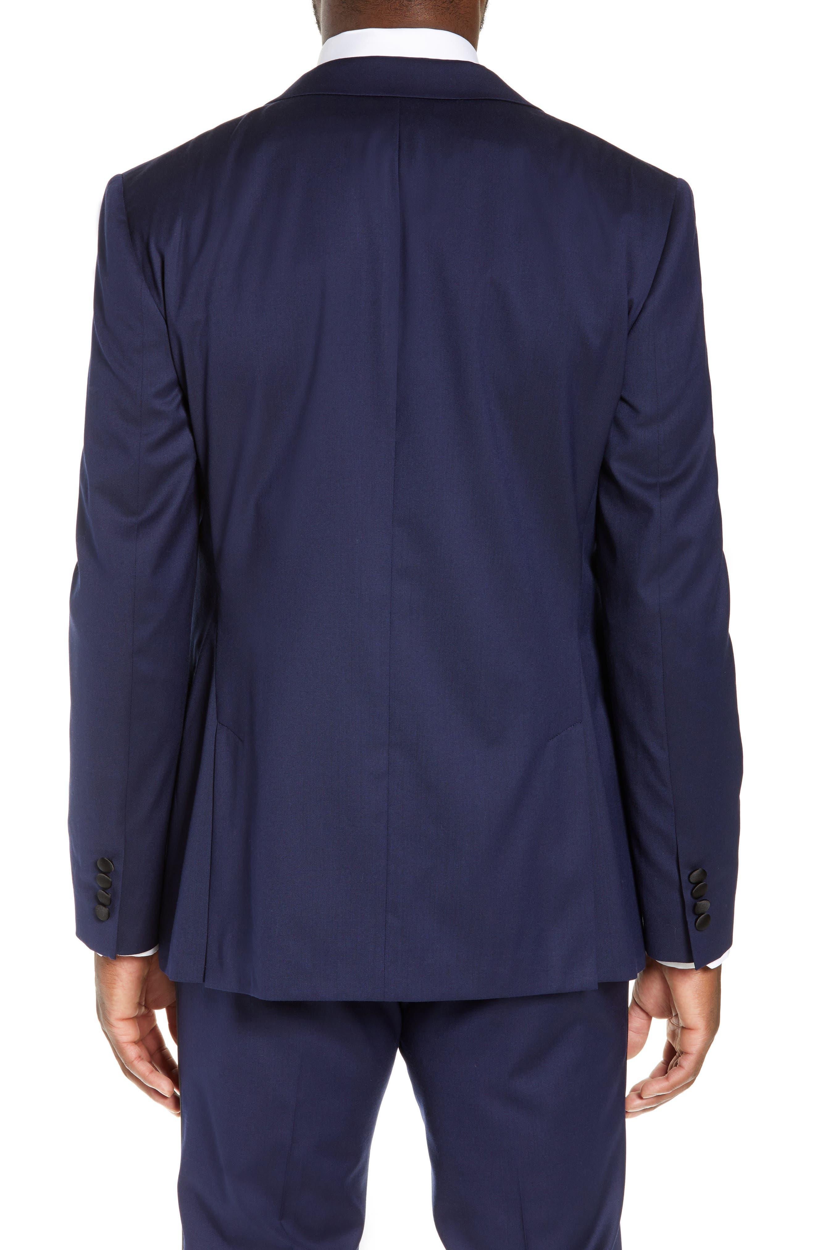BONOBOS Capstone Slim Fit Italian Wool Blend Dinner Jacket in Navy