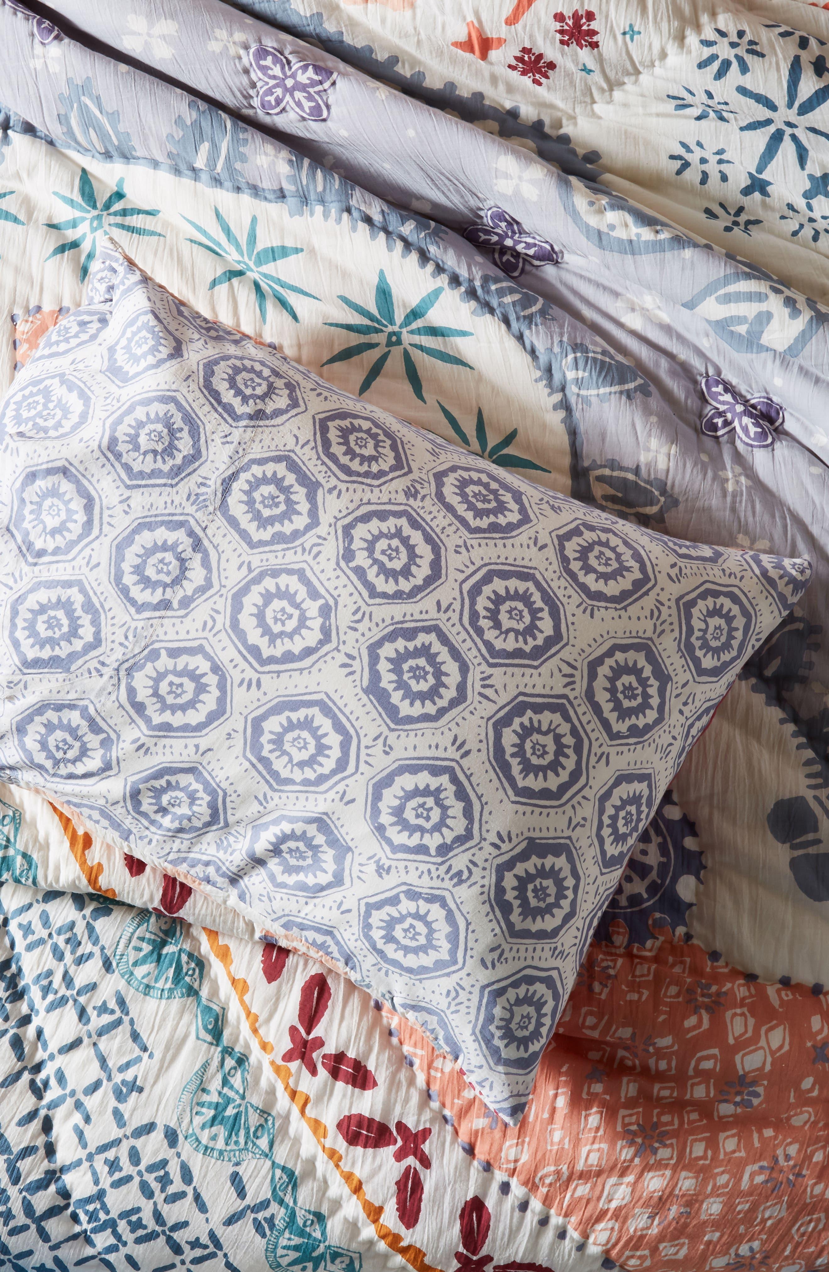 Laterza Pillow Shams,                             Alternate thumbnail 2, color,                             BLUE MULTI