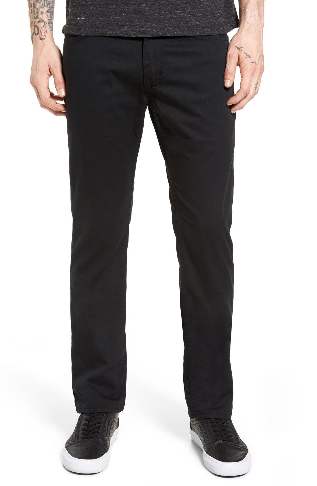 V56 Covina II Slim Fit Pants,                             Main thumbnail 1, color,                             001