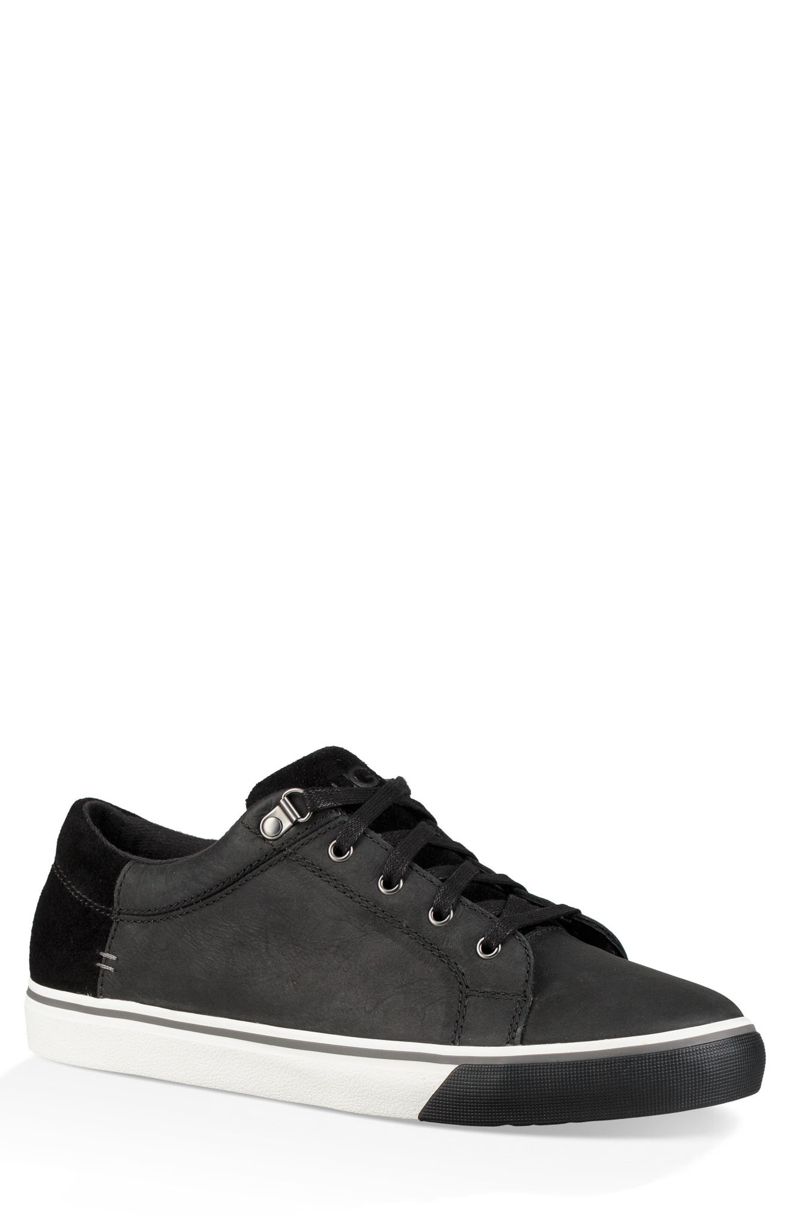Brock II Waterproof Sneaker,                         Main,                         color, BLACK