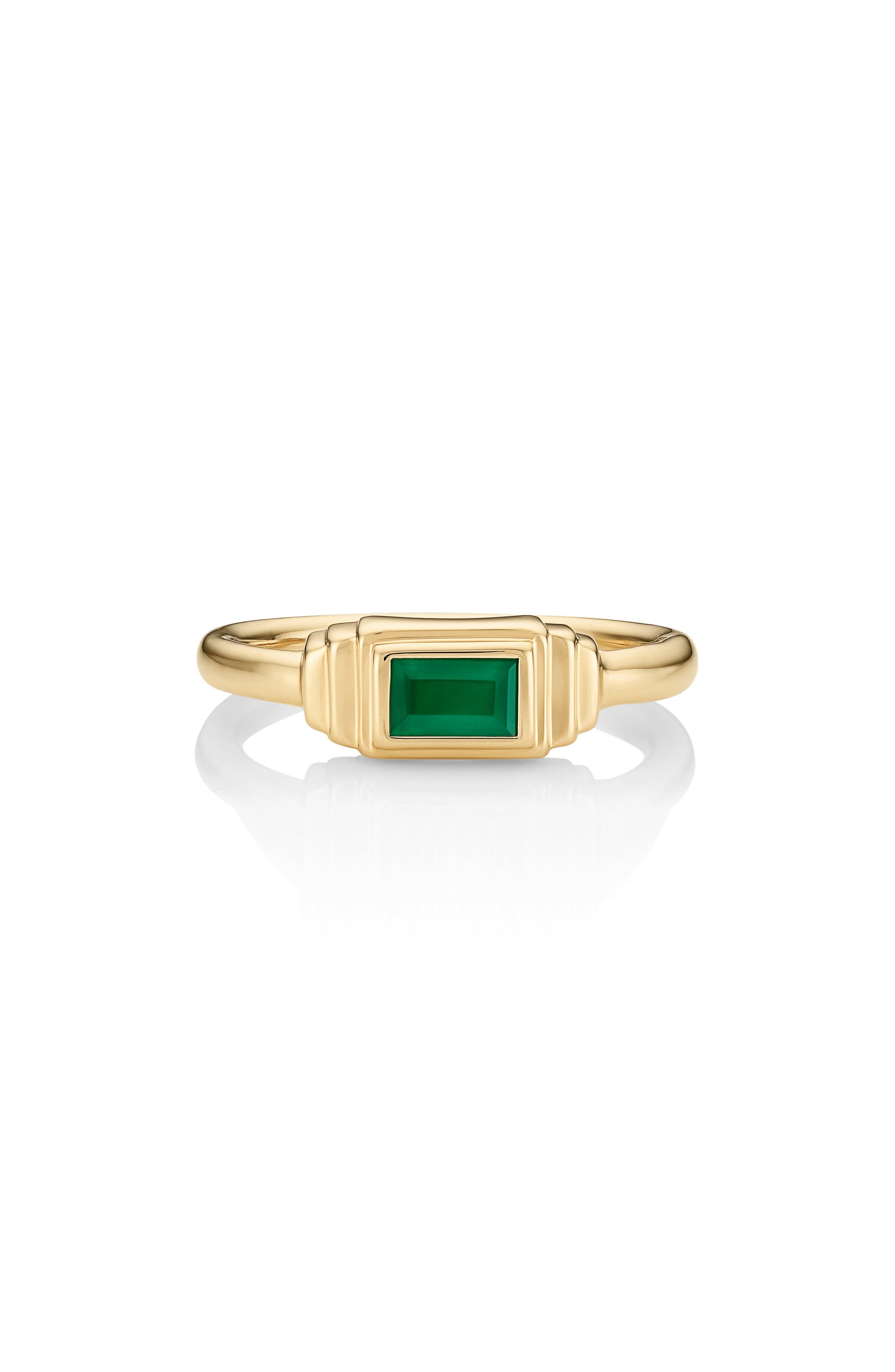Baja Deco Semiprecious Stone Ring,                             Main thumbnail 3, color,