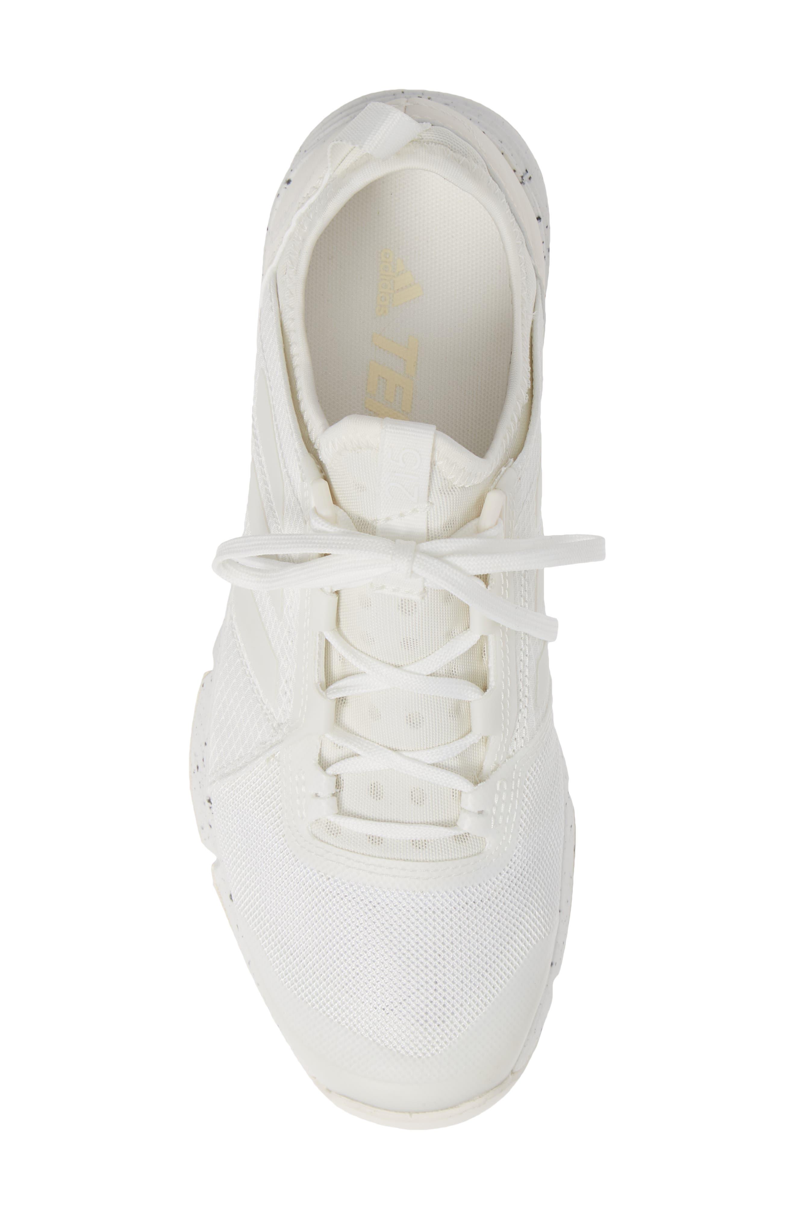 Terrex Agravic Speed Running Shoe,                             Alternate thumbnail 5, color,                             NON-DYED/ WHITE/ CHALK WHITE