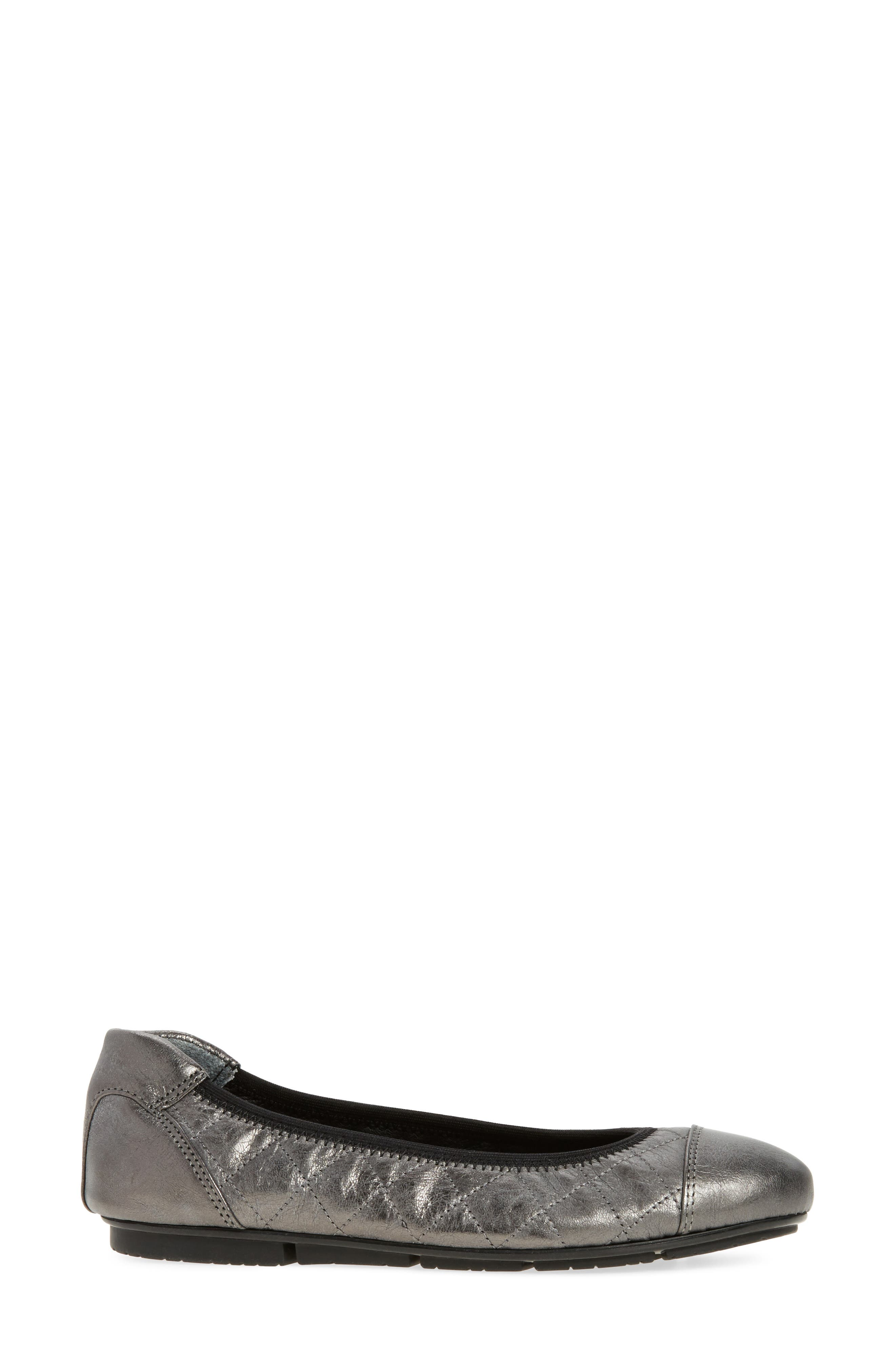 Ava Quilted Ballet Flat,                             Alternate thumbnail 8, color,