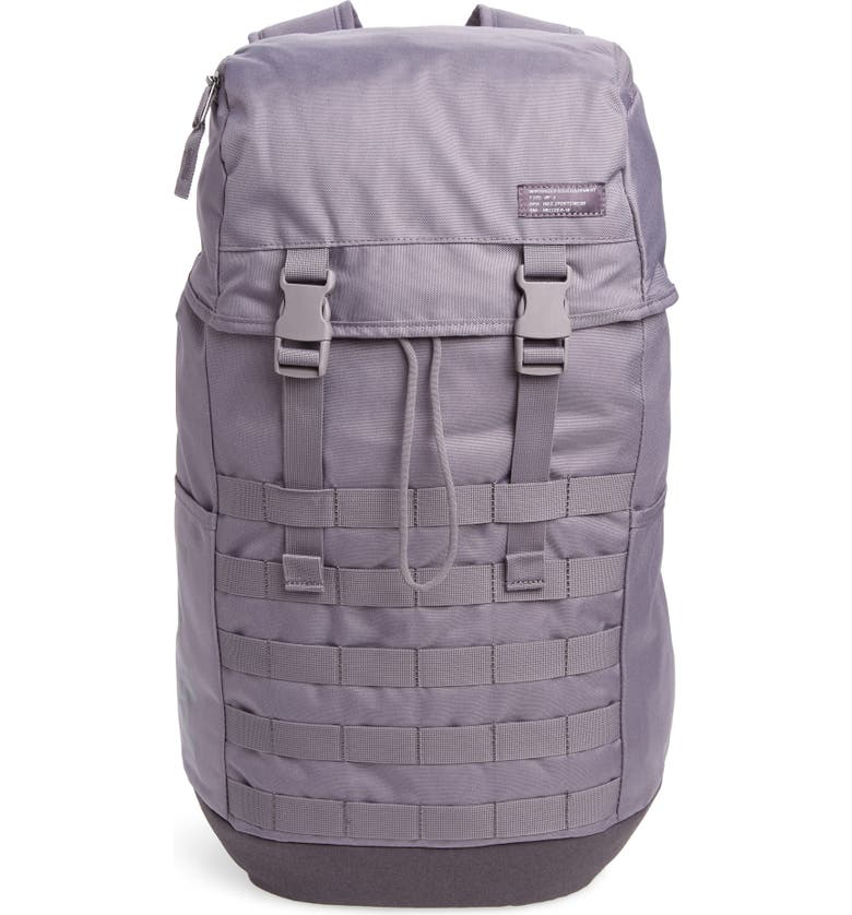NIKE AF-1 Backpack, Main, color, GUNSMOKE