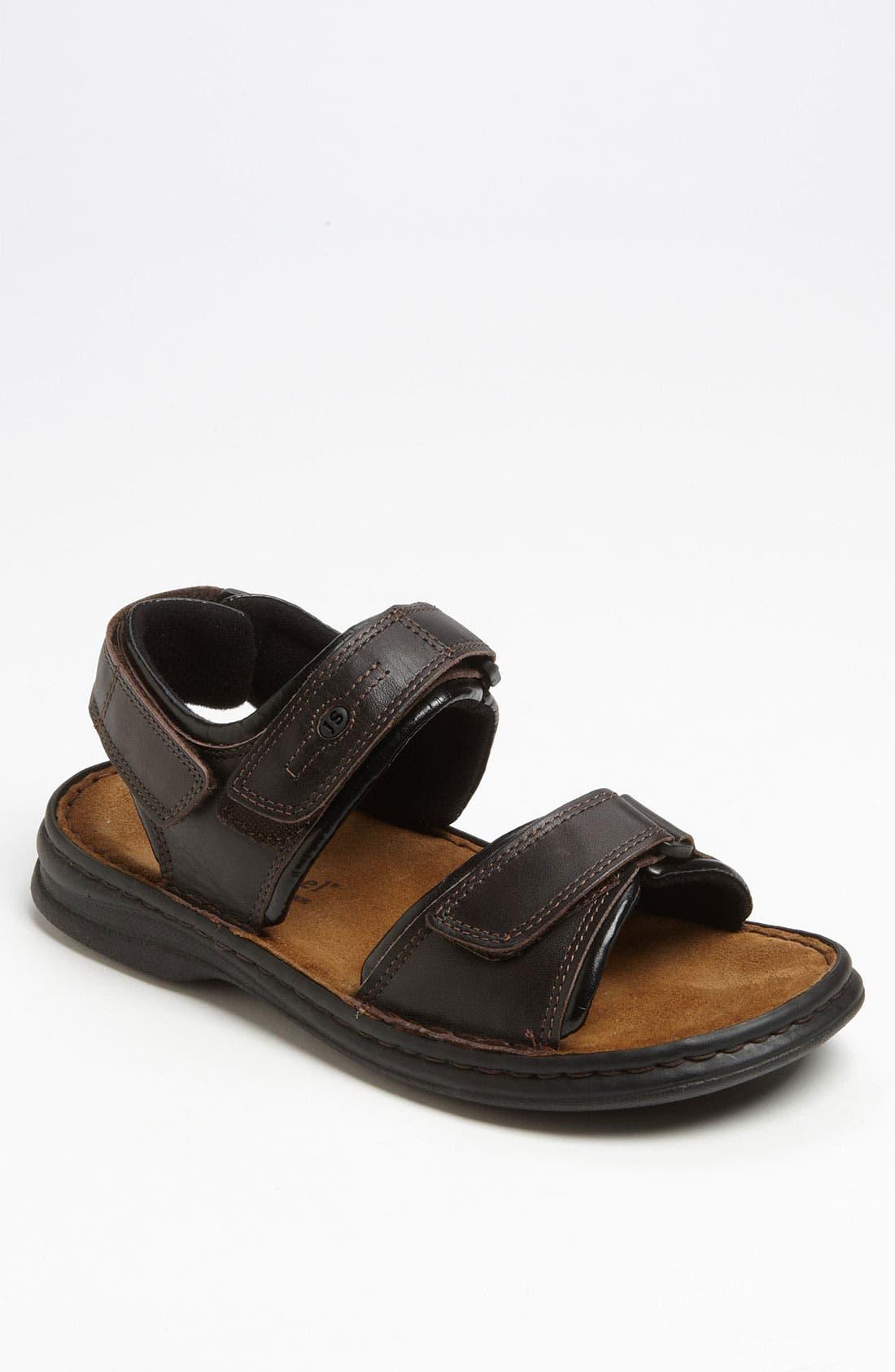 'Rafe' Sandal,                         Main,                         color, Dakota Moro/Black