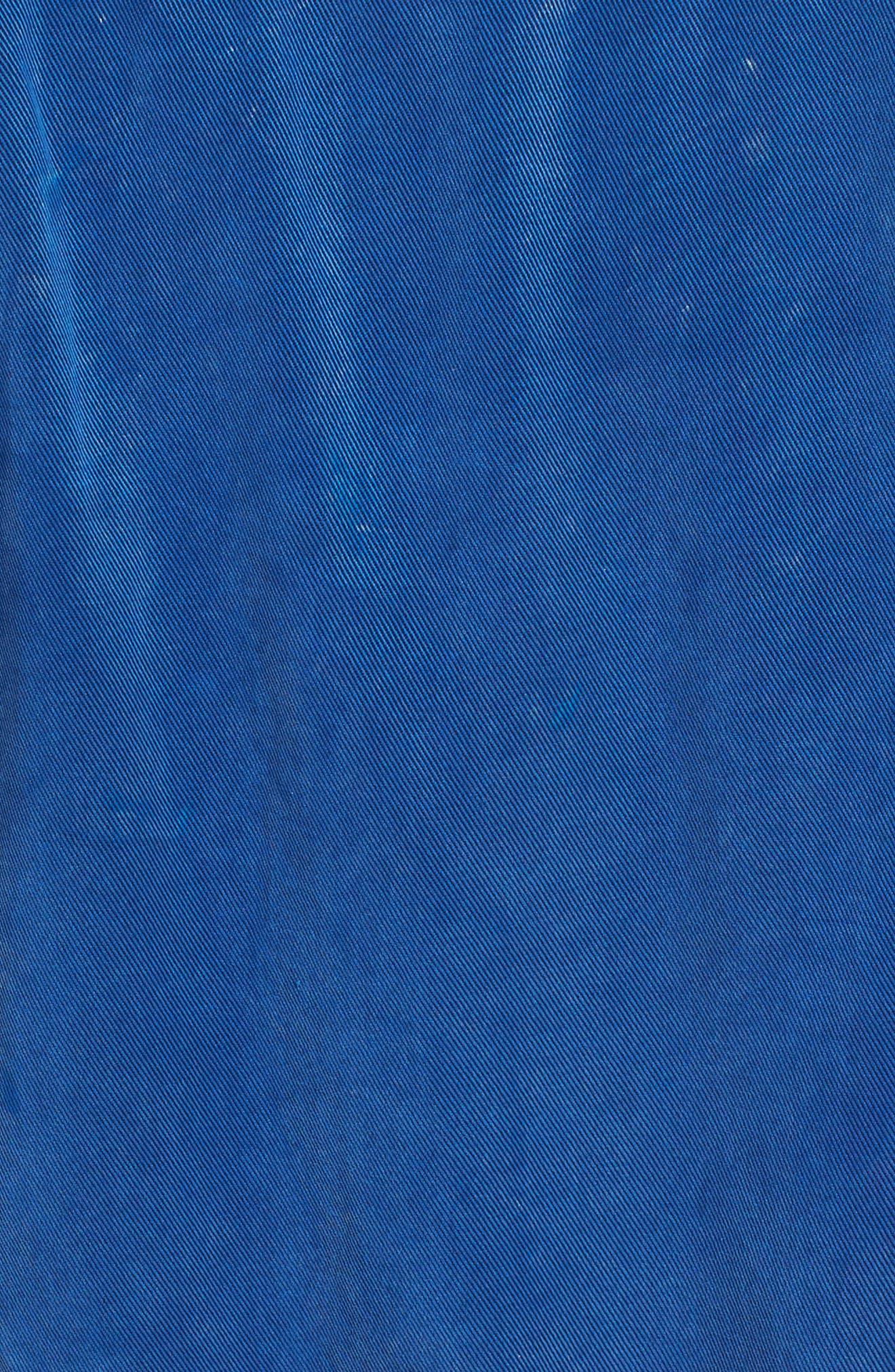 HUDSON JEANS,                             Utility Denim Jumpsuit,                             Alternate thumbnail 6, color,                             ALBURY