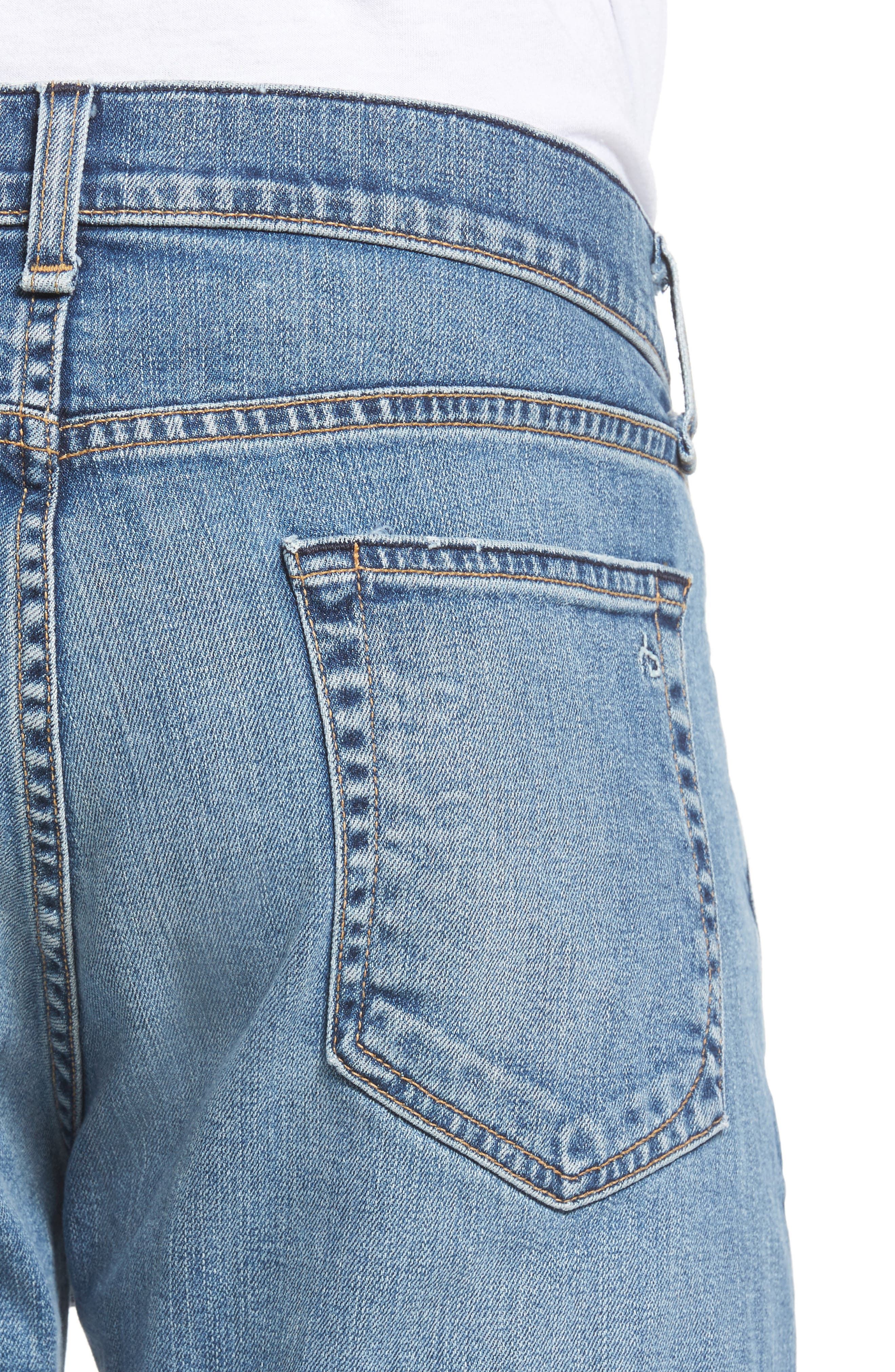 Fit 2 Slim Fit Jeans,                             Alternate thumbnail 4, color,                             DARK KINGSTON