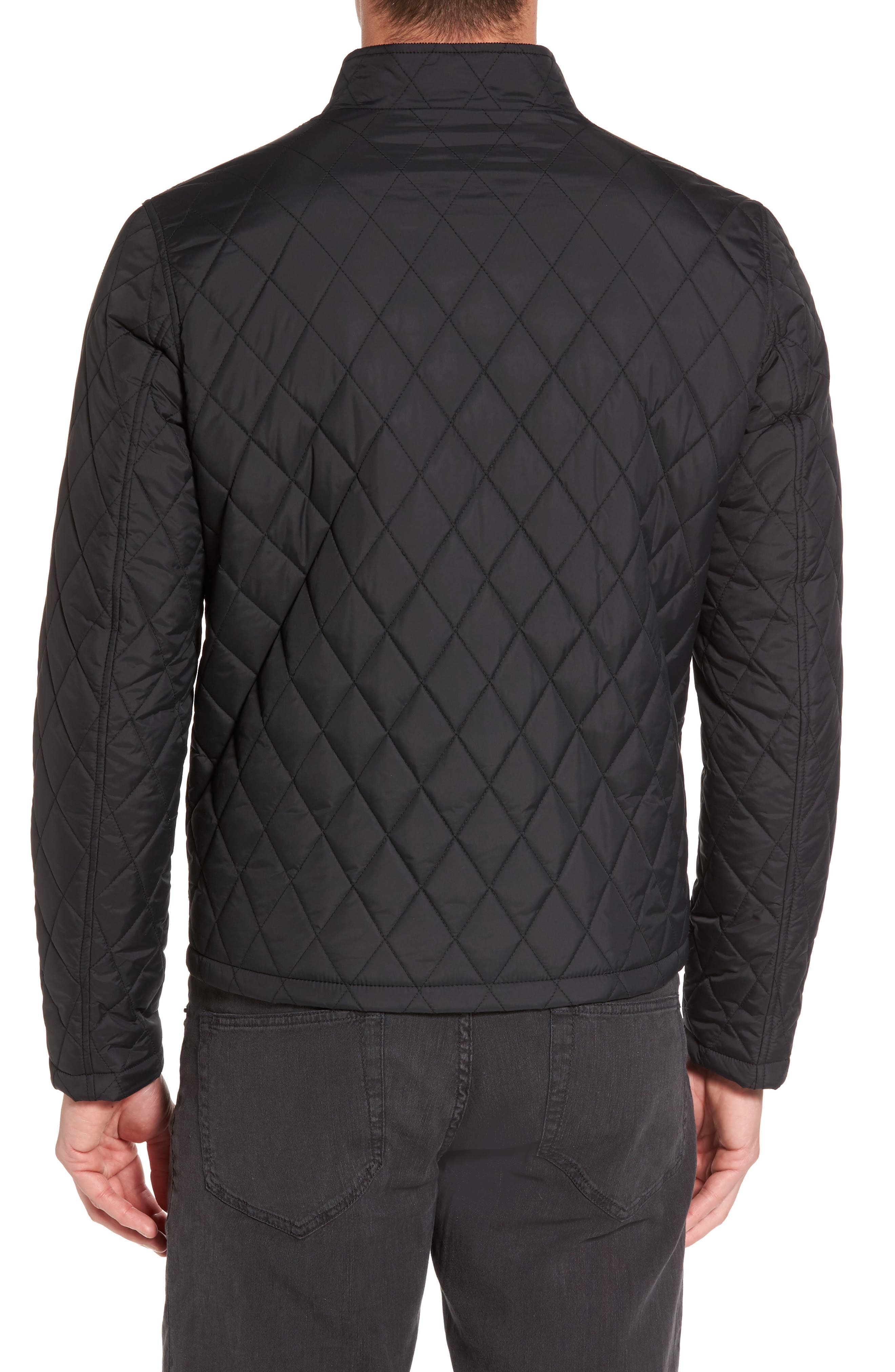 Quilted Moto Jacket,                             Alternate thumbnail 4, color,