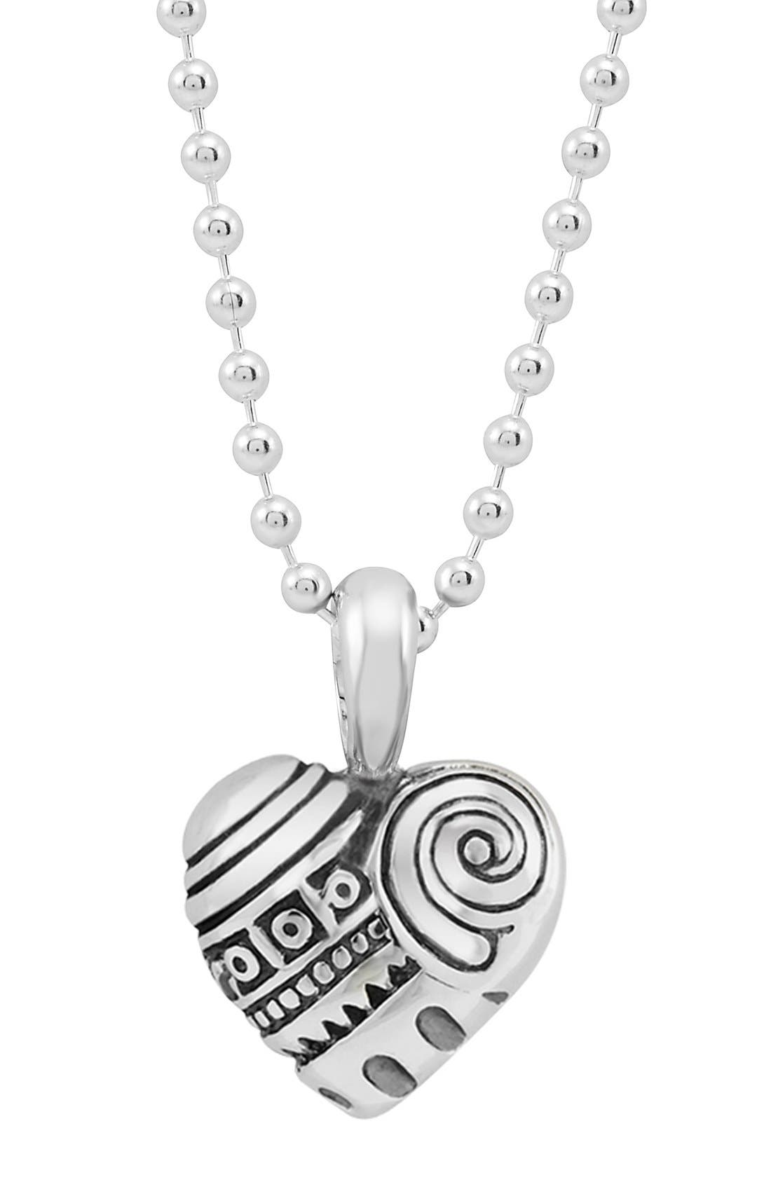 'Hearts of Lagos - Seattle' Reversible Pendant Necklace,                             Alternate thumbnail 2, color,                             042