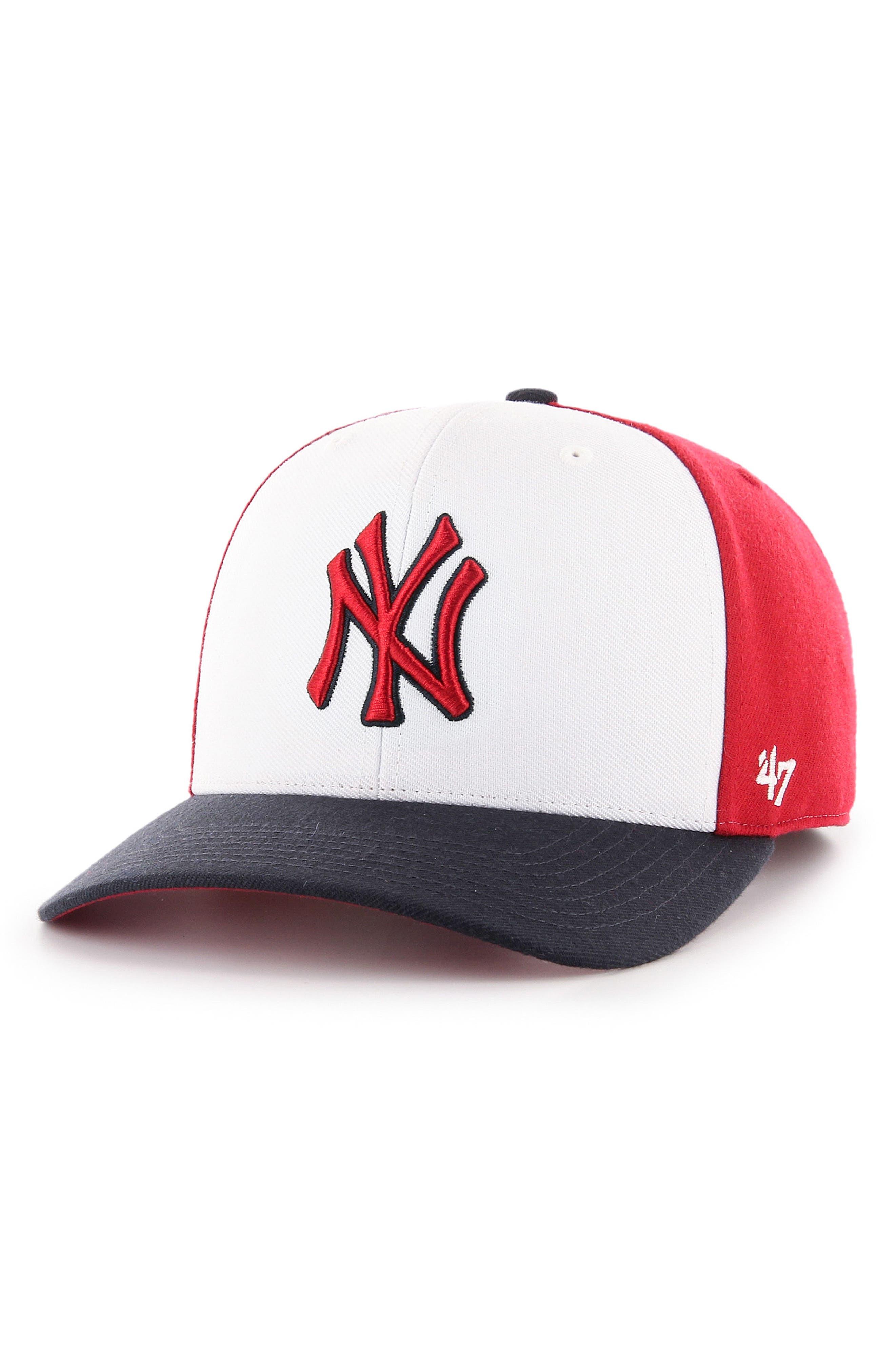 Reresto MLB Ball Cap,                             Main thumbnail 2, color,