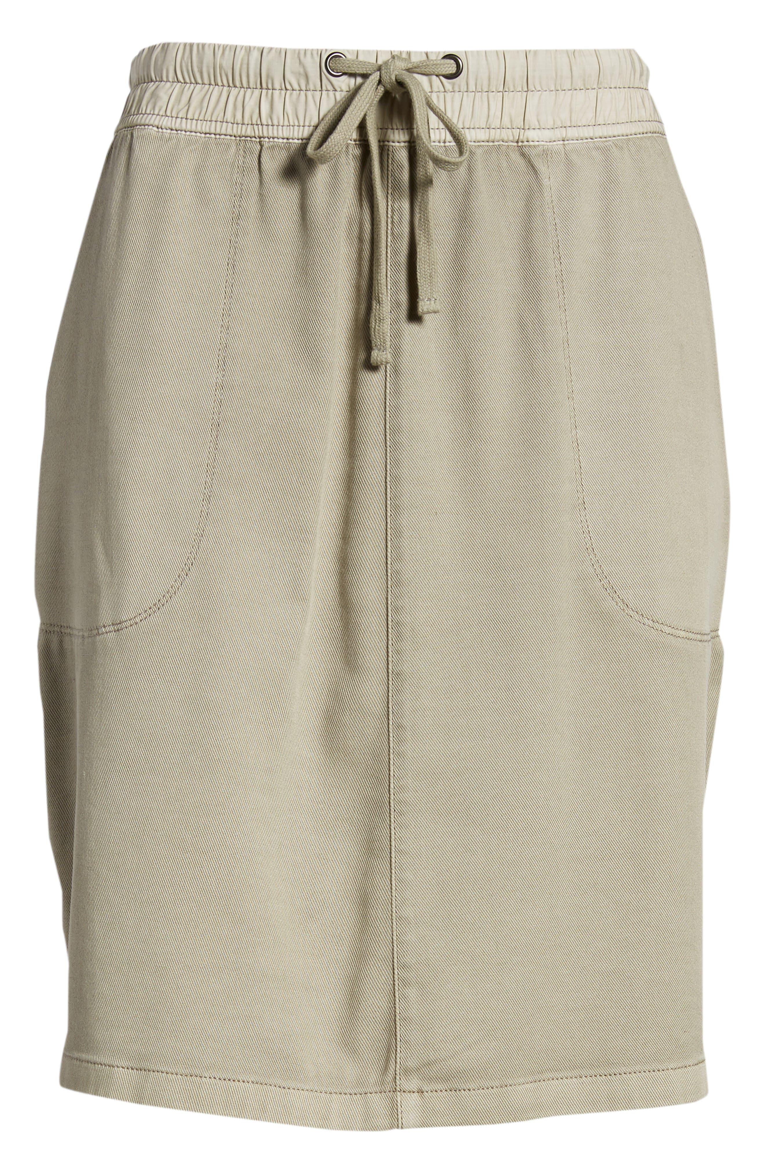 Open Road Skirt,                             Alternate thumbnail 6, color,                             FLAX