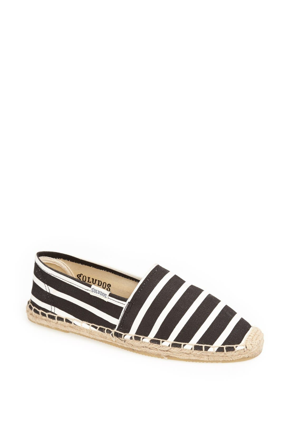 'Classic' Espadrille Slip-On,                         Main,                         color, 001