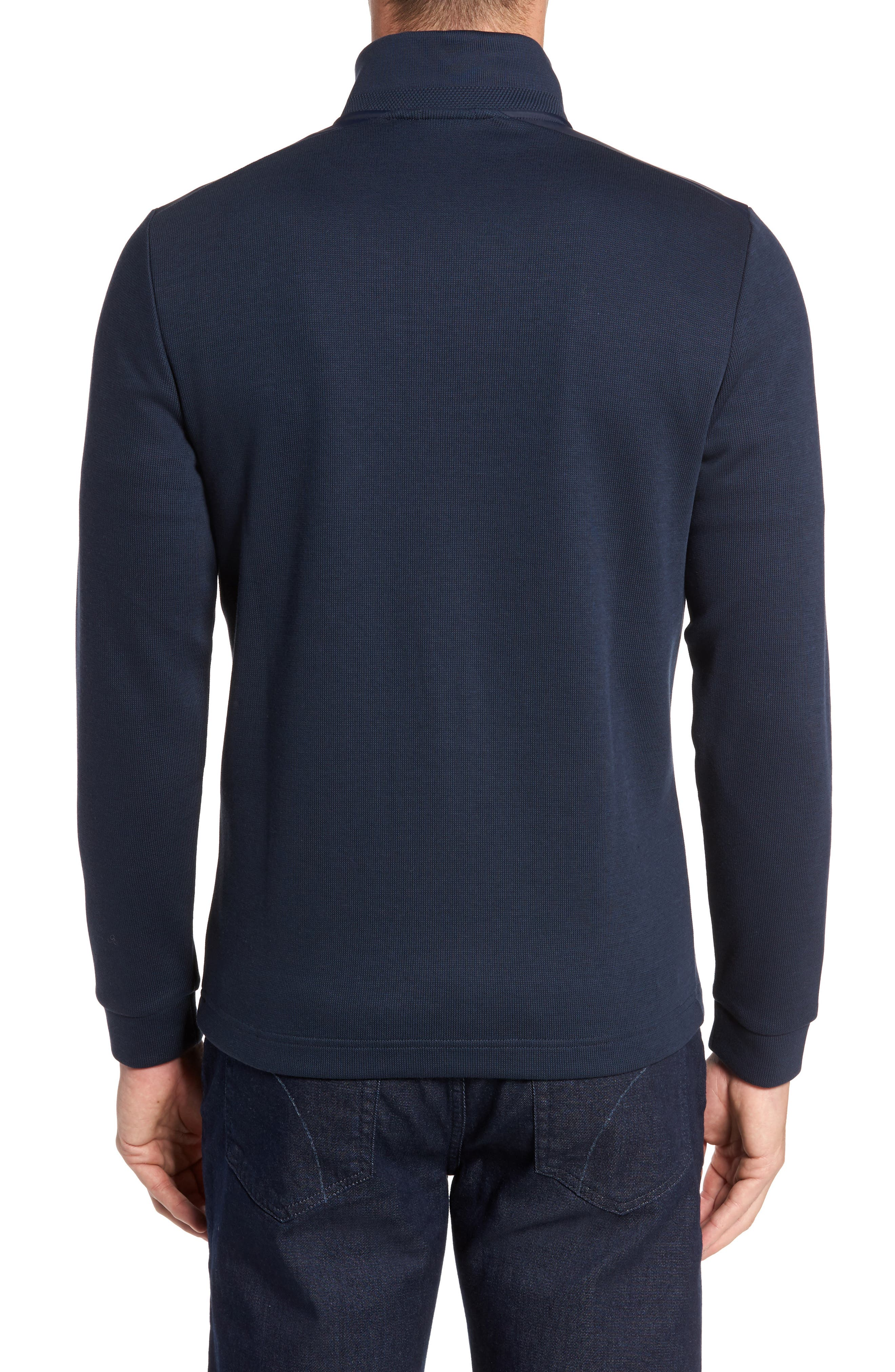 C-Piceno Quarter Zip Fleece Pullover,                             Alternate thumbnail 6, color,