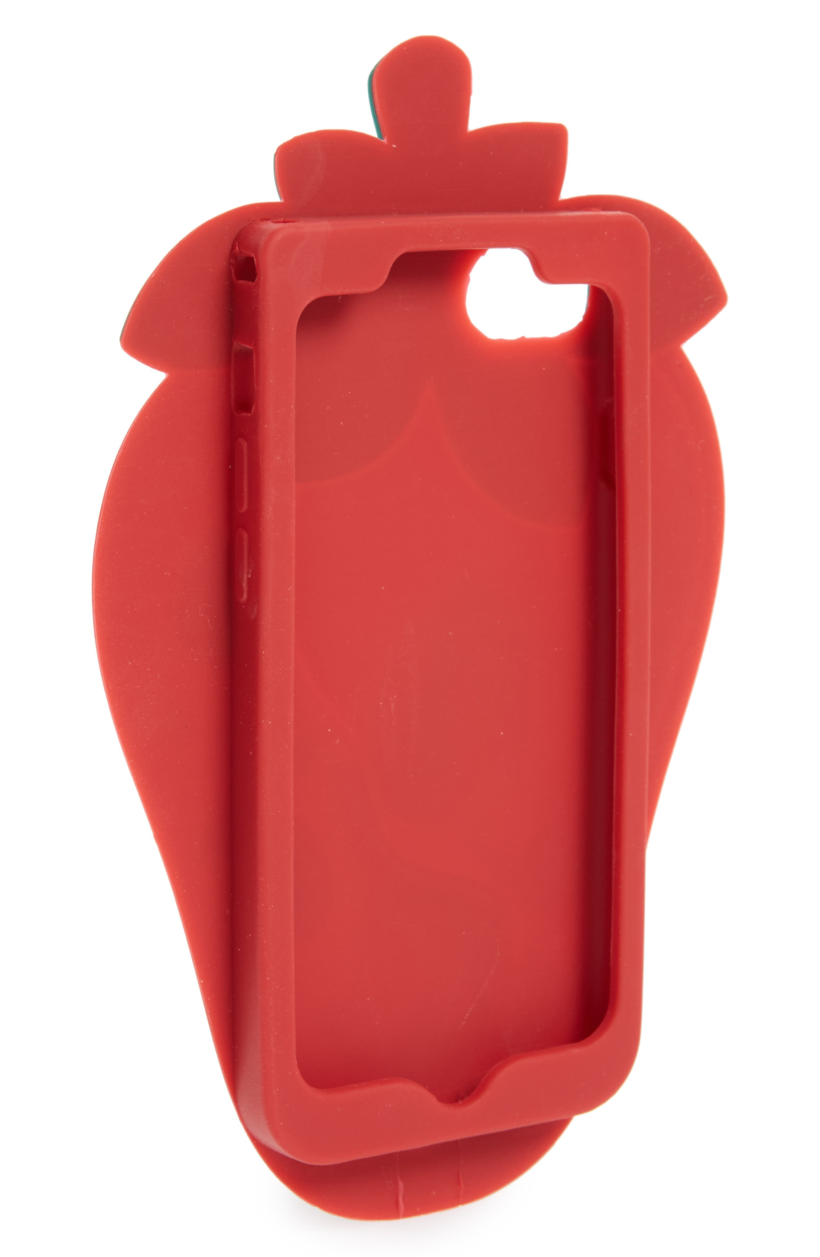 Oversize Soft Strawberry iPhone 7/8 Case,                             Alternate thumbnail 2, color,                             600