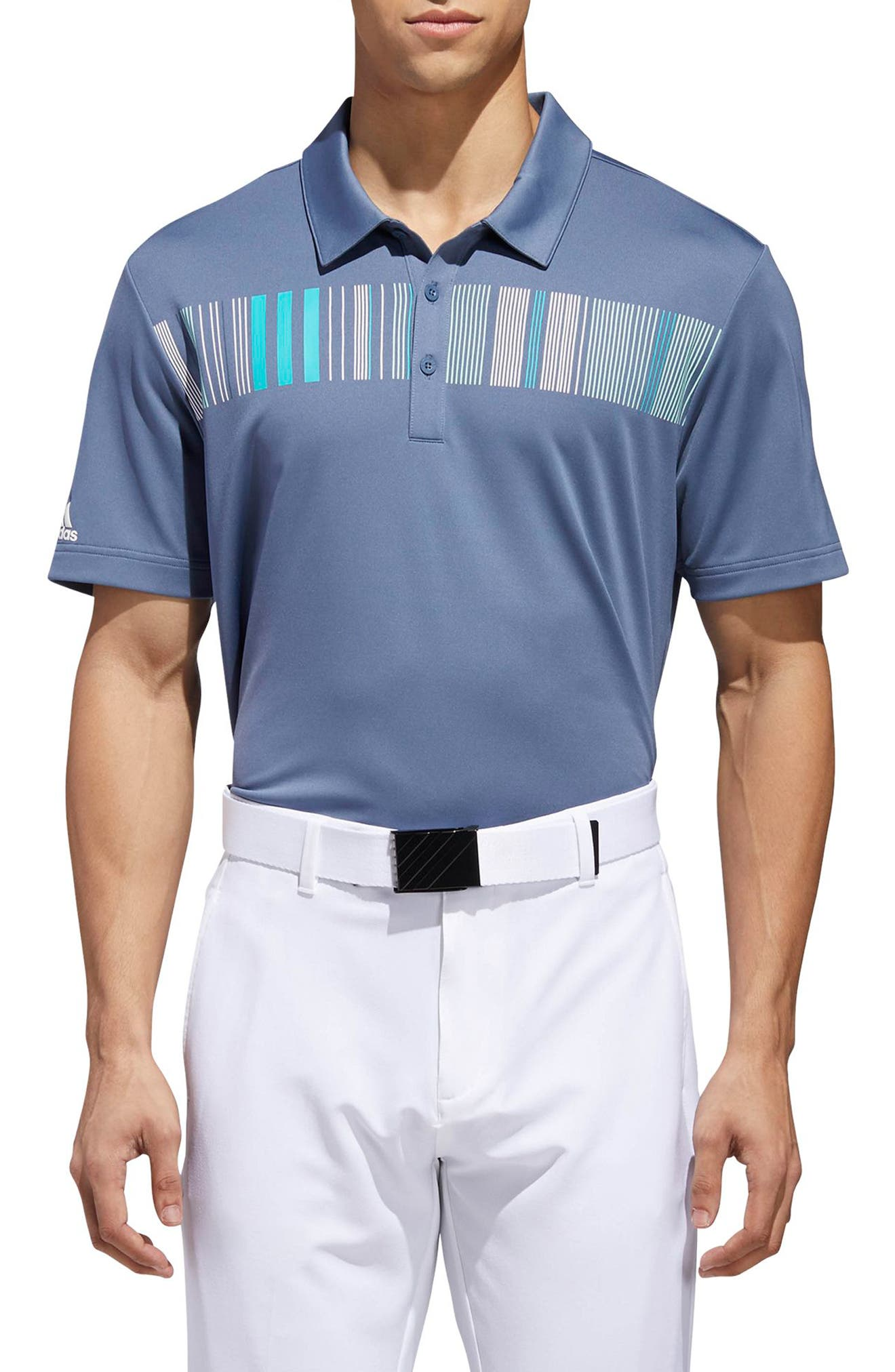 Ultimate Fashion Tech Polo,                             Main thumbnail 1, color,                             TECH INK