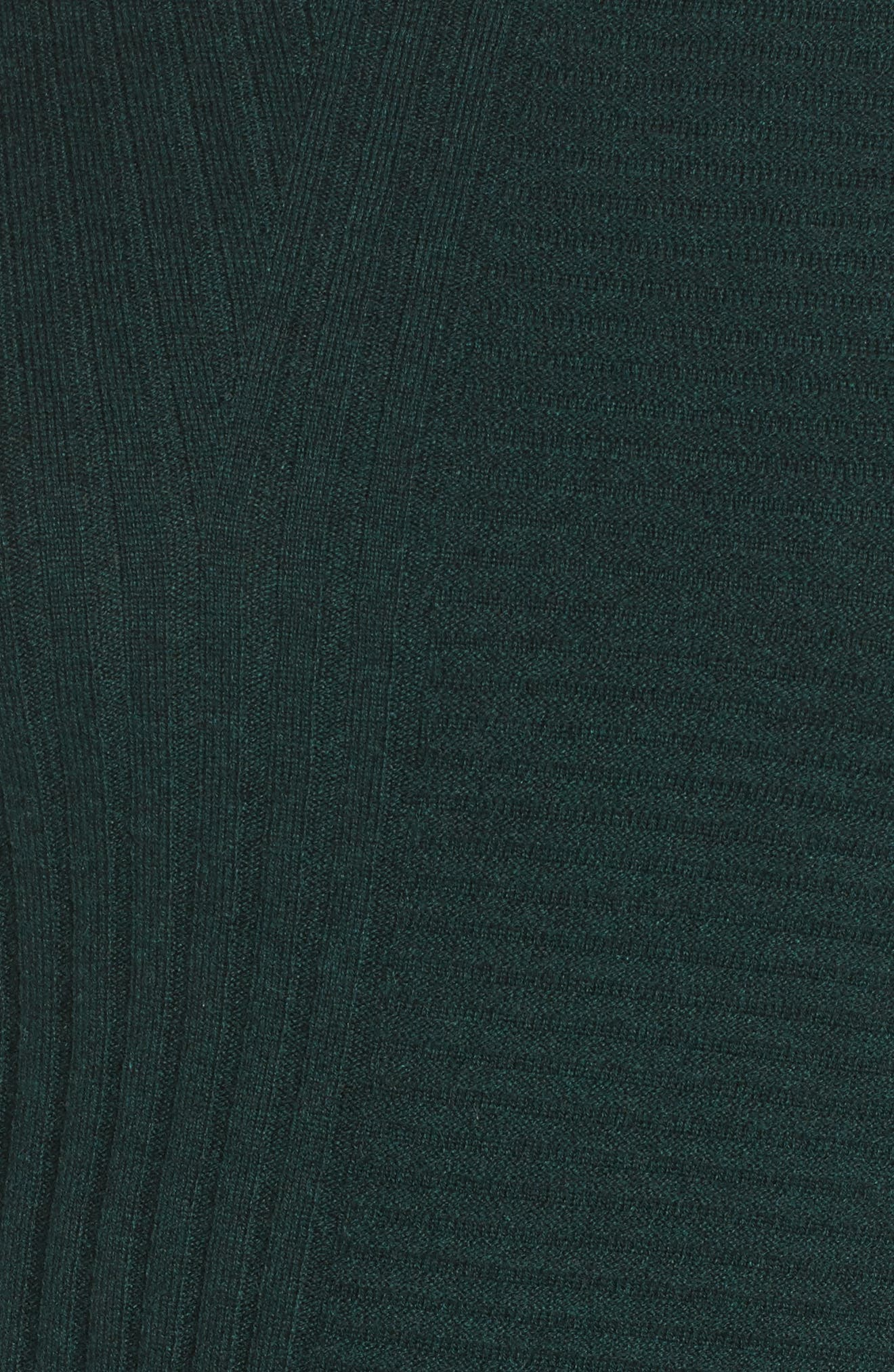 Ribbed Cashmere Sweater,                             Alternate thumbnail 5, color,                             390