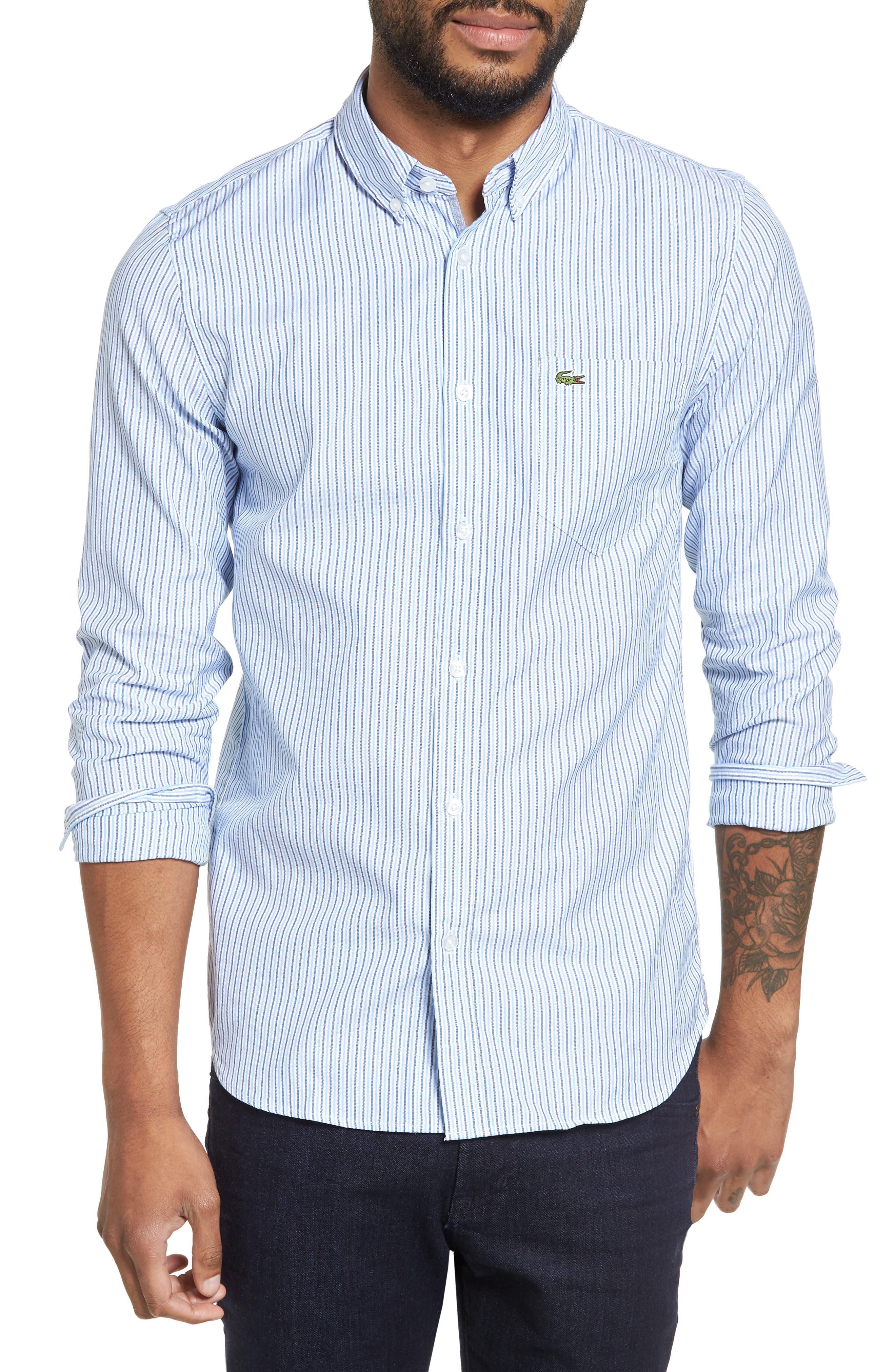 Button-Down Sport Shirt,                             Main thumbnail 1, color,                             435