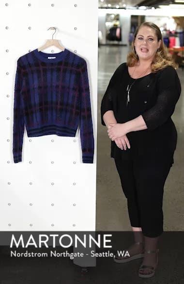 Plaid Sweater, sales video thumbnail