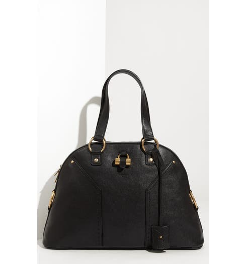 936d635718 Yves Saint Laurent  Muse - Large  Leather Dome Satchel