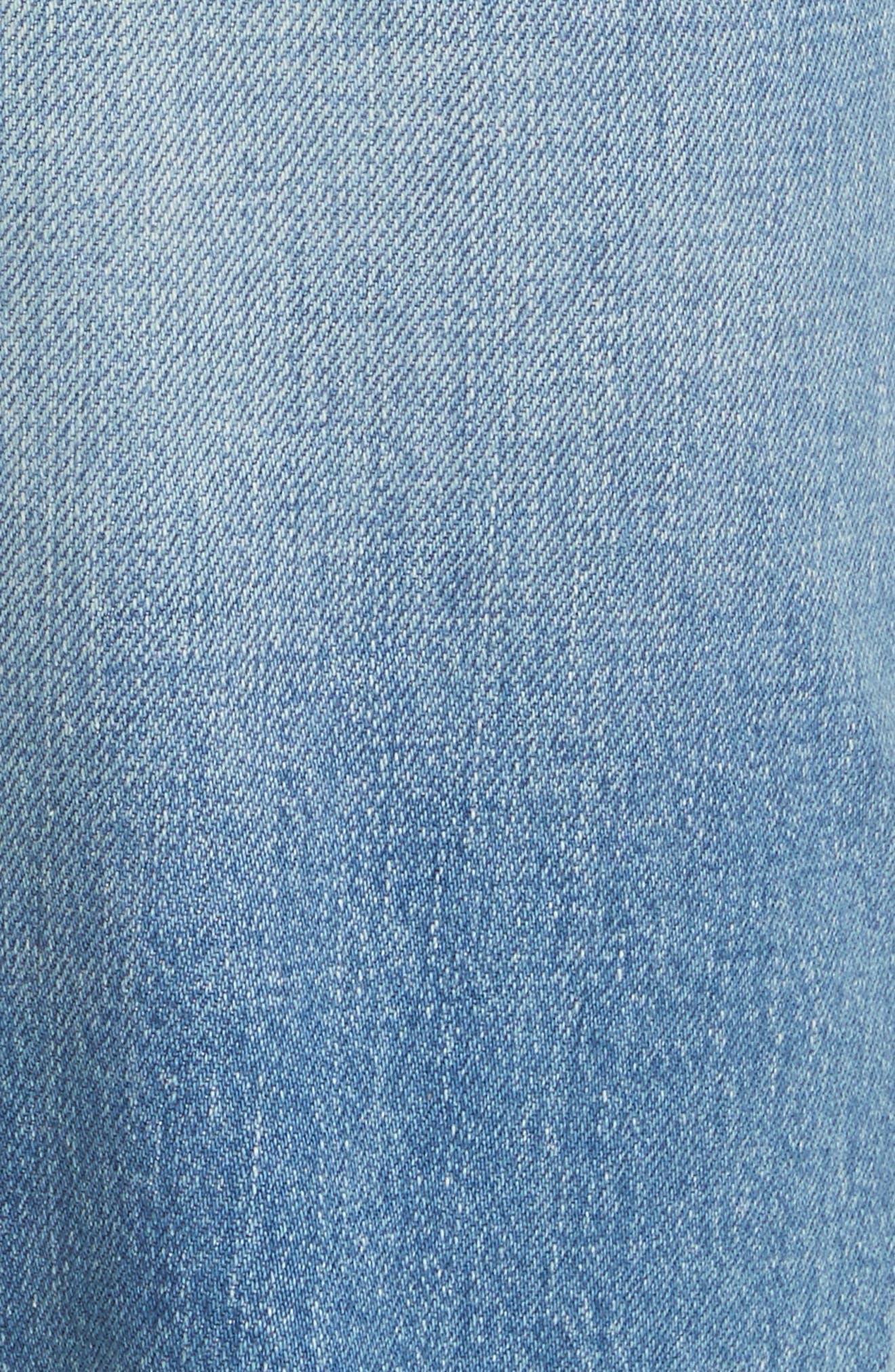 Kiara High Waist Ankle Boyfriend Jeans,                             Alternate thumbnail 6, color,                             464